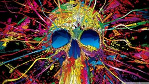 Rainbow Skull Wallpapers – Top Free Rainbow Skull Backgrounds