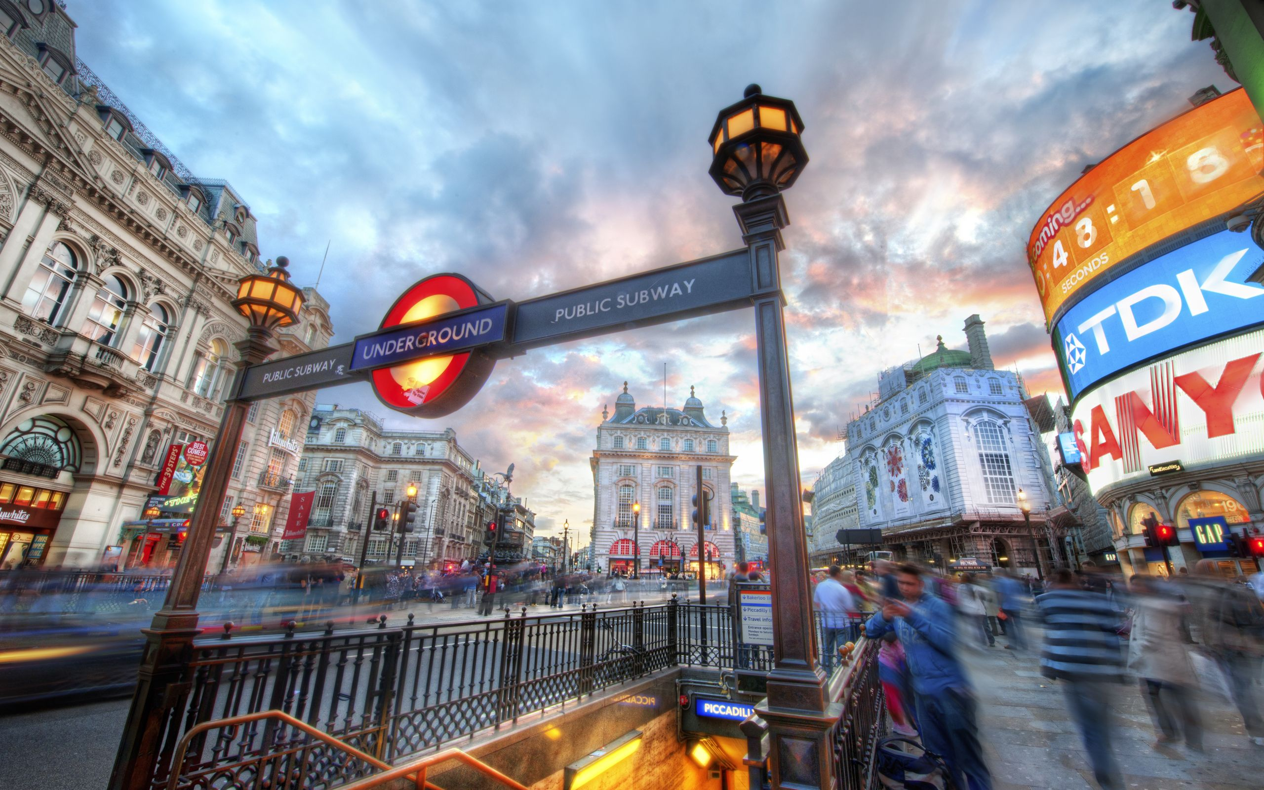 2560x1600 The London Underground – Piccadilly widescreen wallpaper | Wide ...