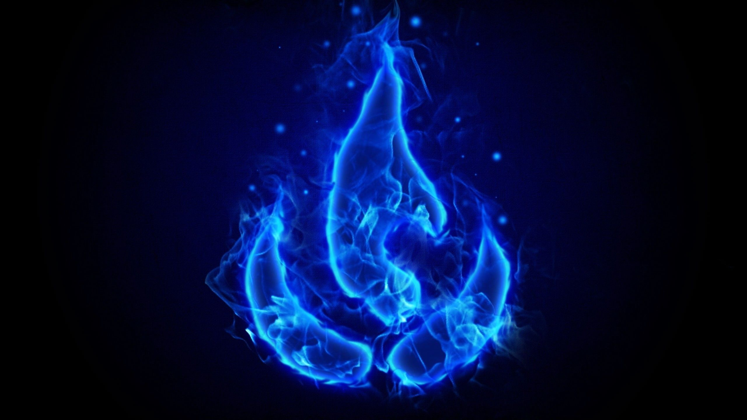 2560x1440 Blue Fire Skull Wallpaper (58+ images)