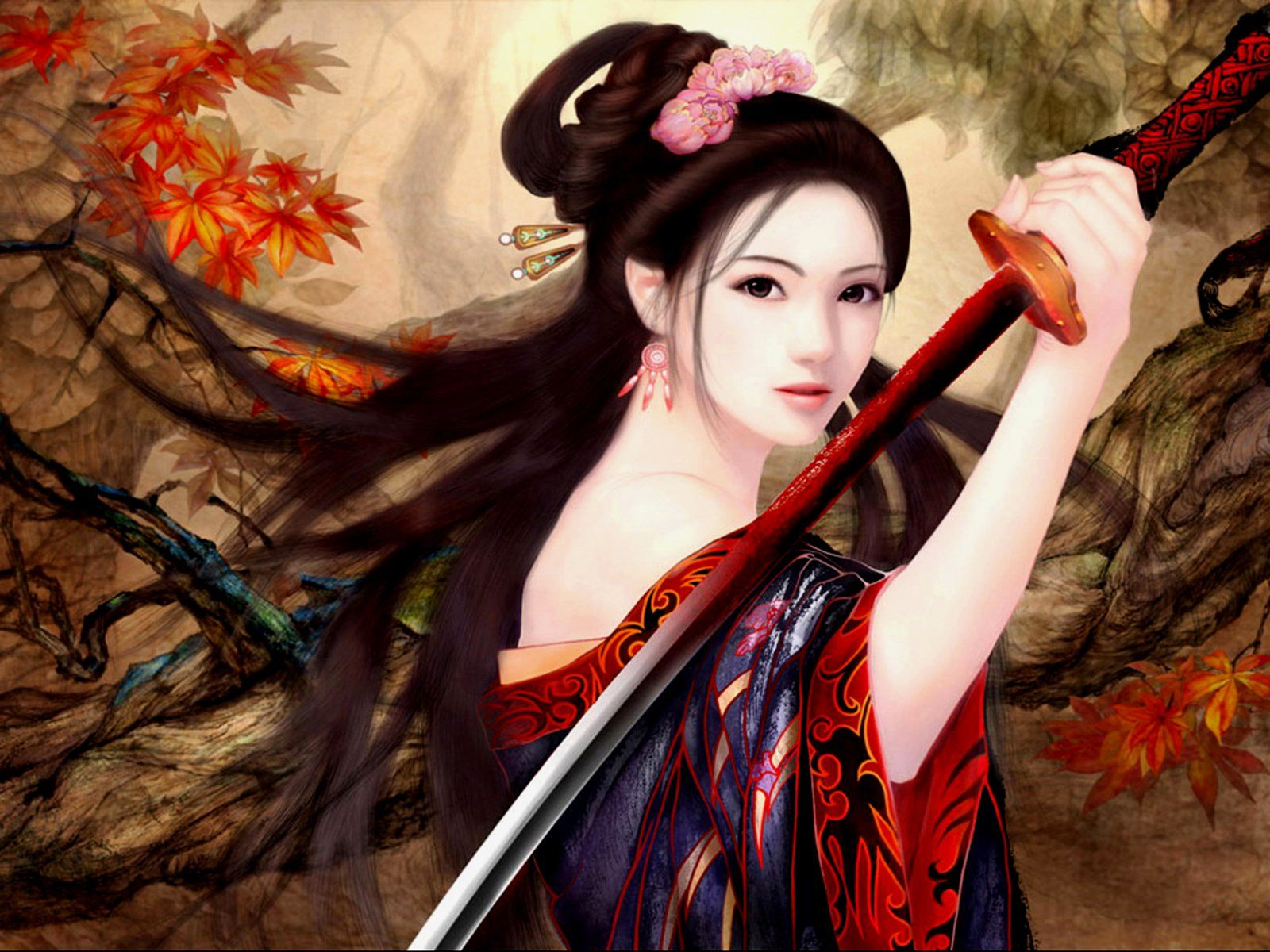 1600x1200 1185 Women Warrior HD Wallpapers | Background Images - Wallpaper Abyss