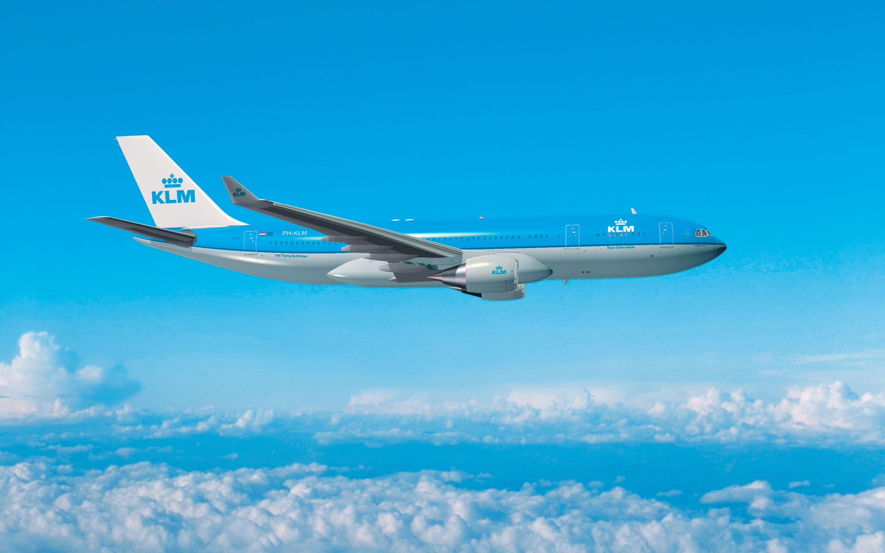 2880x1800 Download wallpapers Airbus A330-200, 4k, passenger plane ...