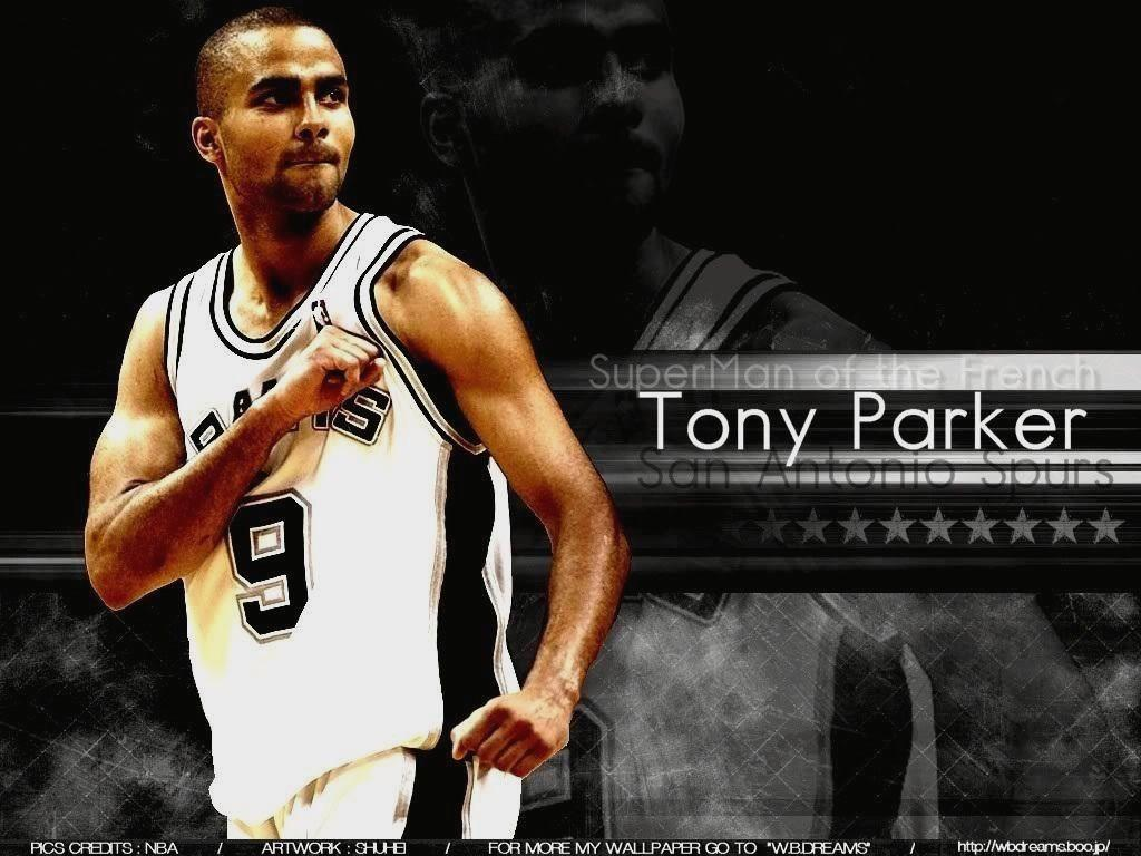 1024x768 Tony Parker Wallpapers