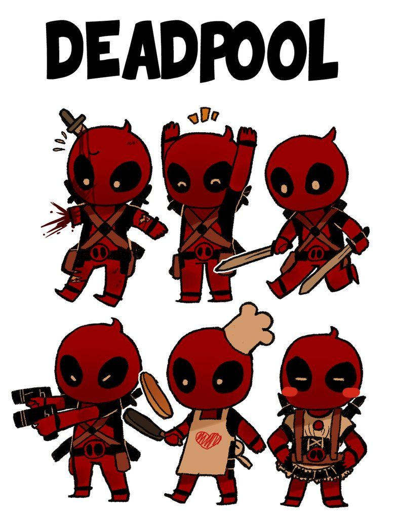 778x1027 itty tiny deadpool by hibridtastic on DeviantArt