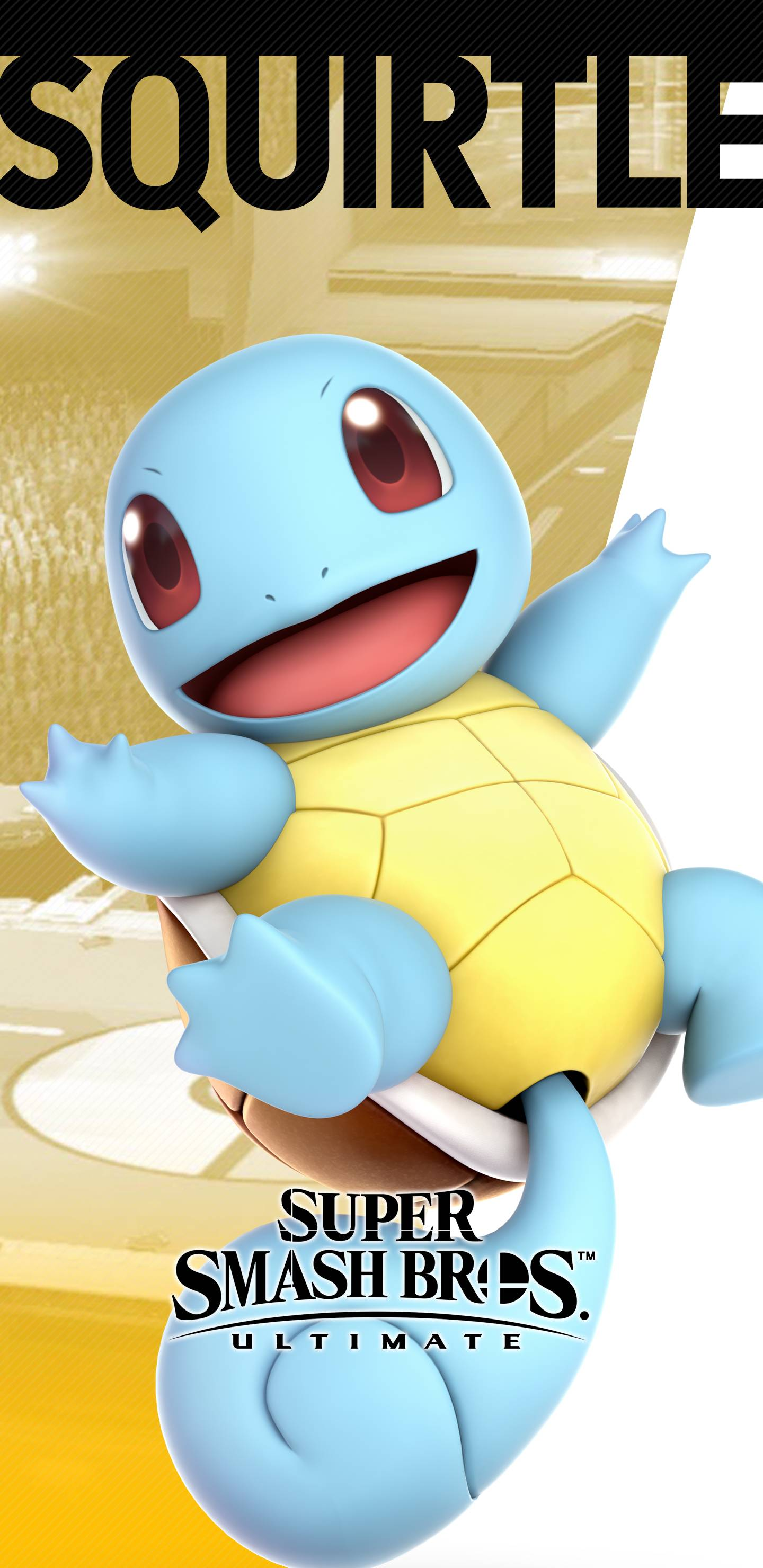 1440x2960 Super Smash Bros Ultimate Squirtle Wallpapers | Cat with Monocle
