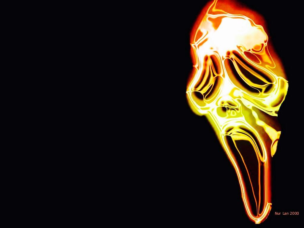 1024x768 Ghostface, Neon | 3d wallpaper, Wallpaper, Desktop