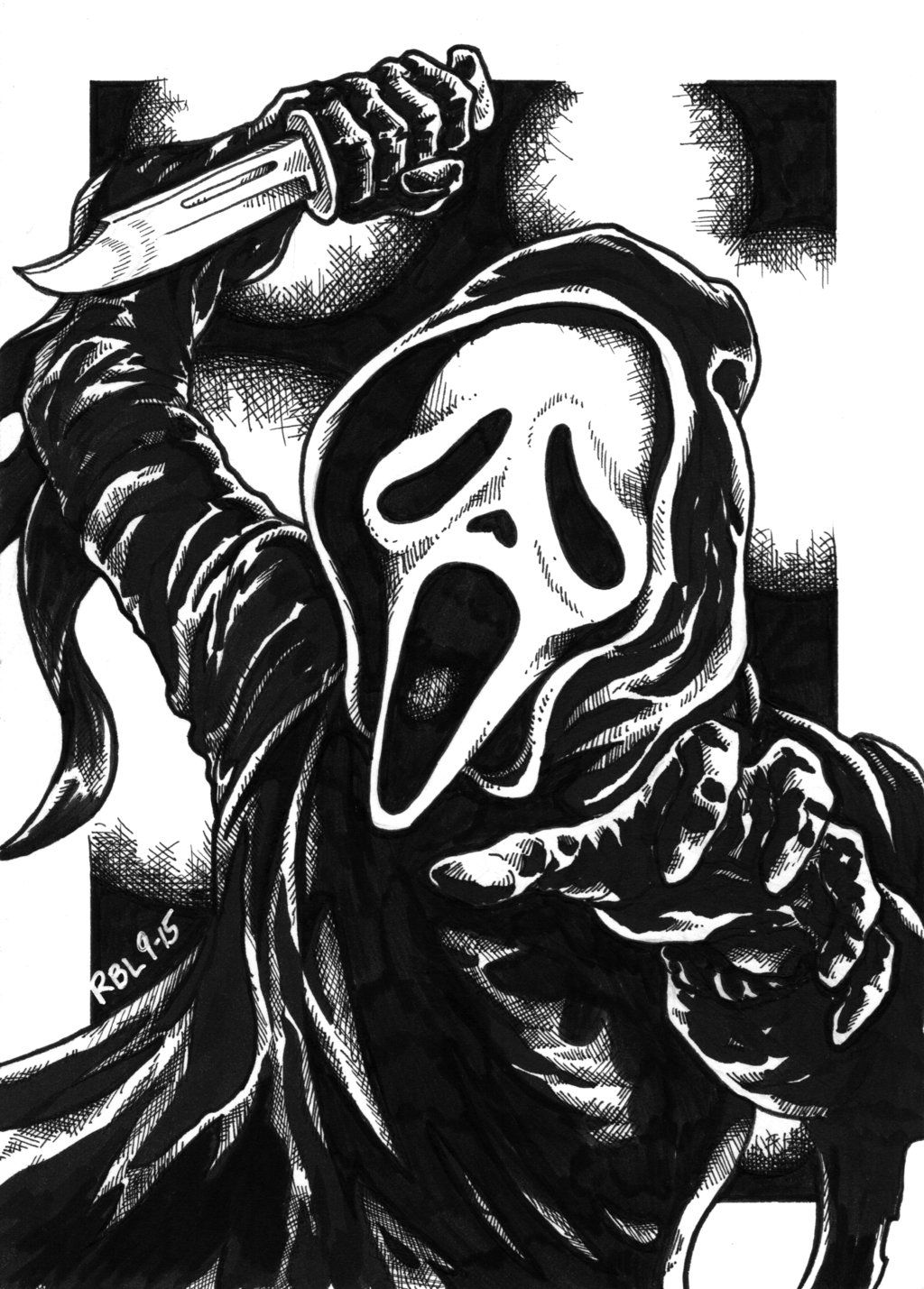1024x1429 Welcome To The CREEPSHOW — pixelated-nightmares: Ghostface ...
