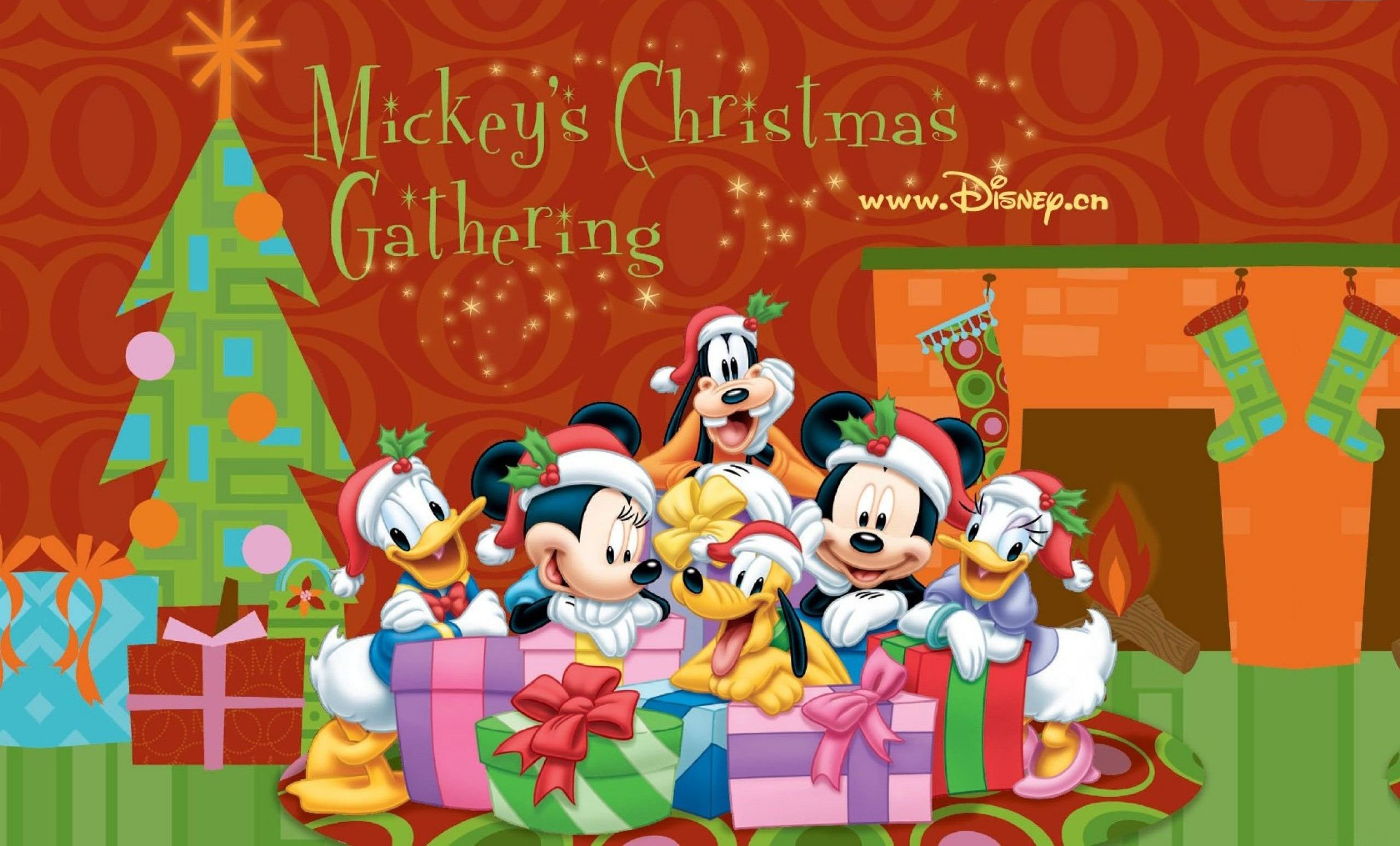 2560x1547 Mickey Mouse Christmas Backgrounds (64+ pictures)