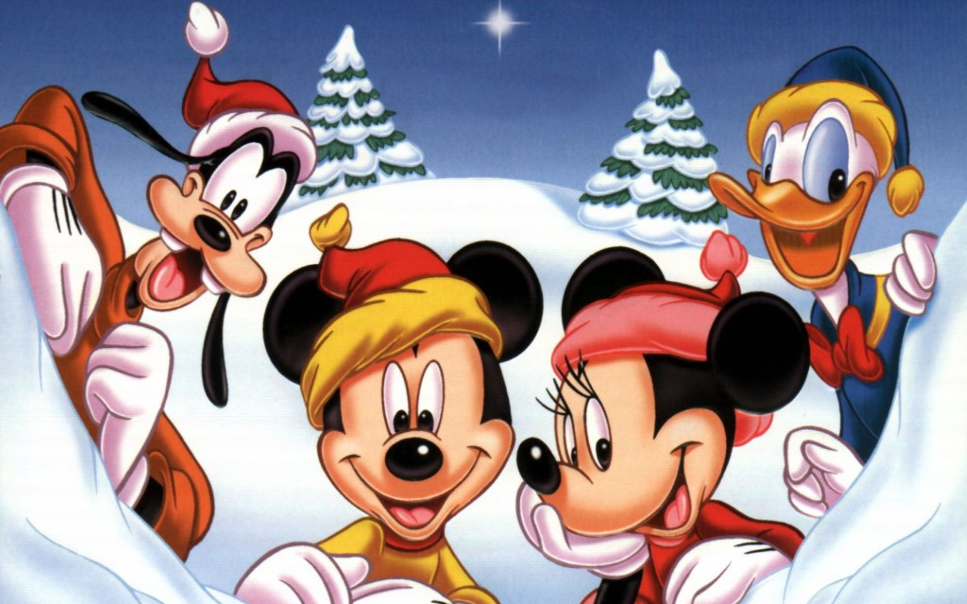 1920x1200 Wallpaper | New Year | photo | picture | Mickey Mouse, New ...