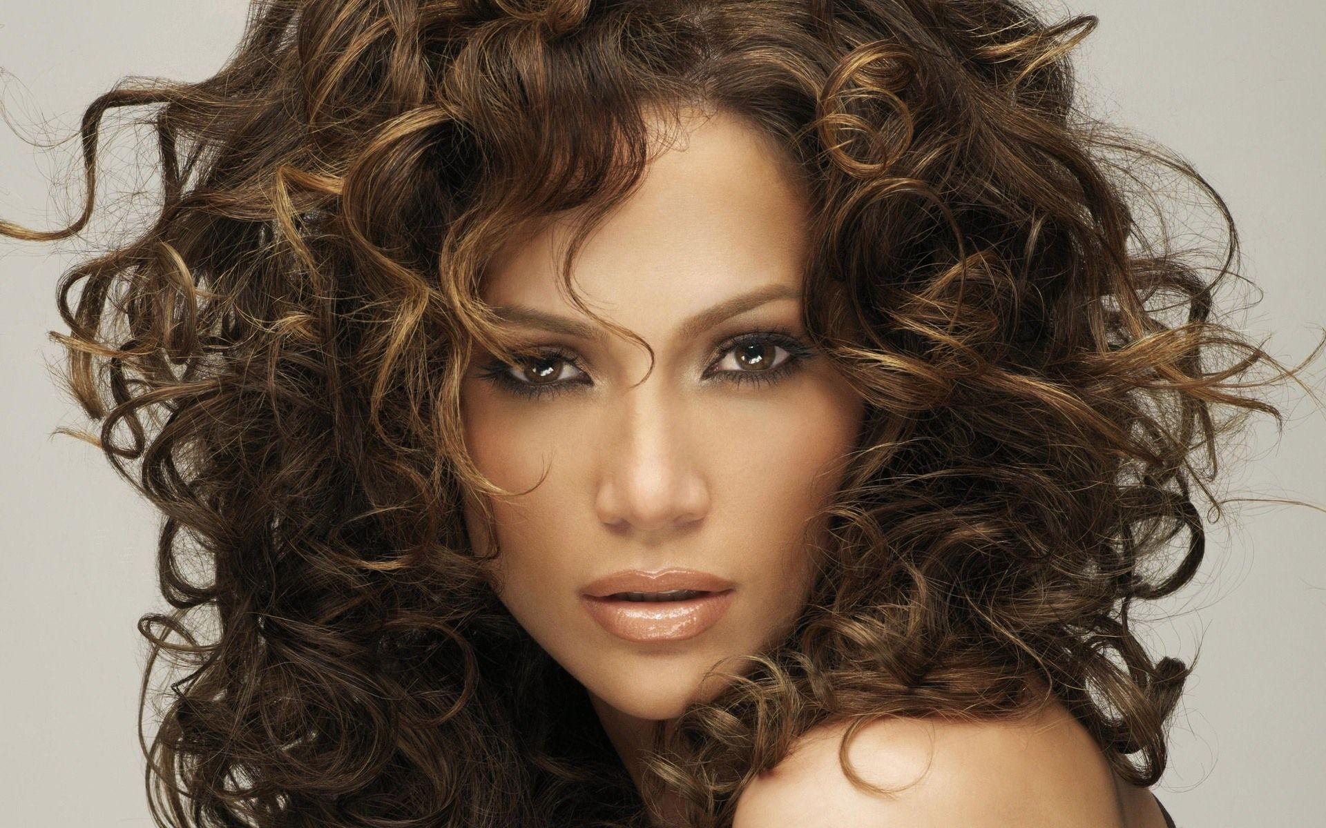 1920x1200 Jennifer Lopez Big Hair, Beautiful Face widescreen wallpaper | Wide ...
