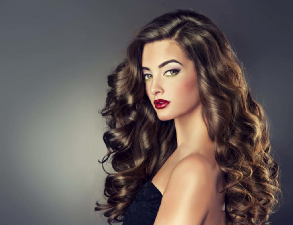1024x784 Medium Hairdos Long Brown Ombre Big Tight Curls 1024x784 Wallpaper ...