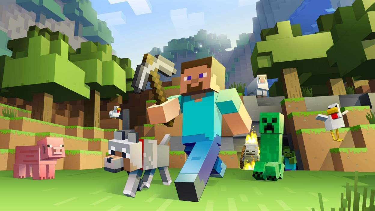 1248x702 Minecraft Wolf Wallpapers