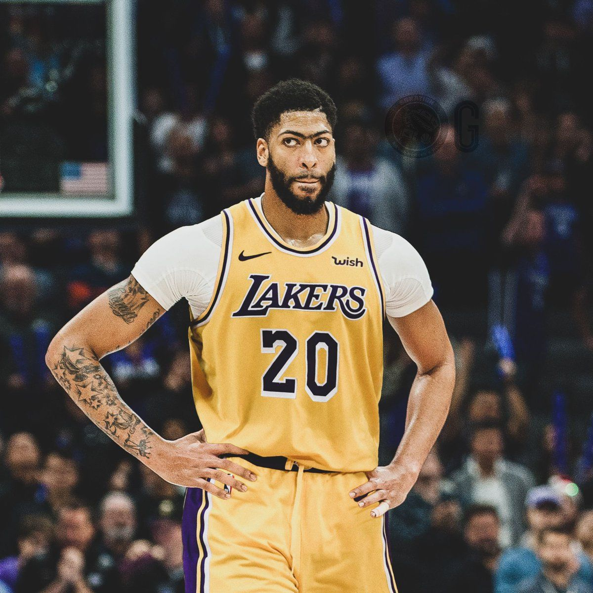 1200x1200 Anthony Davis Lakers Wallpapers