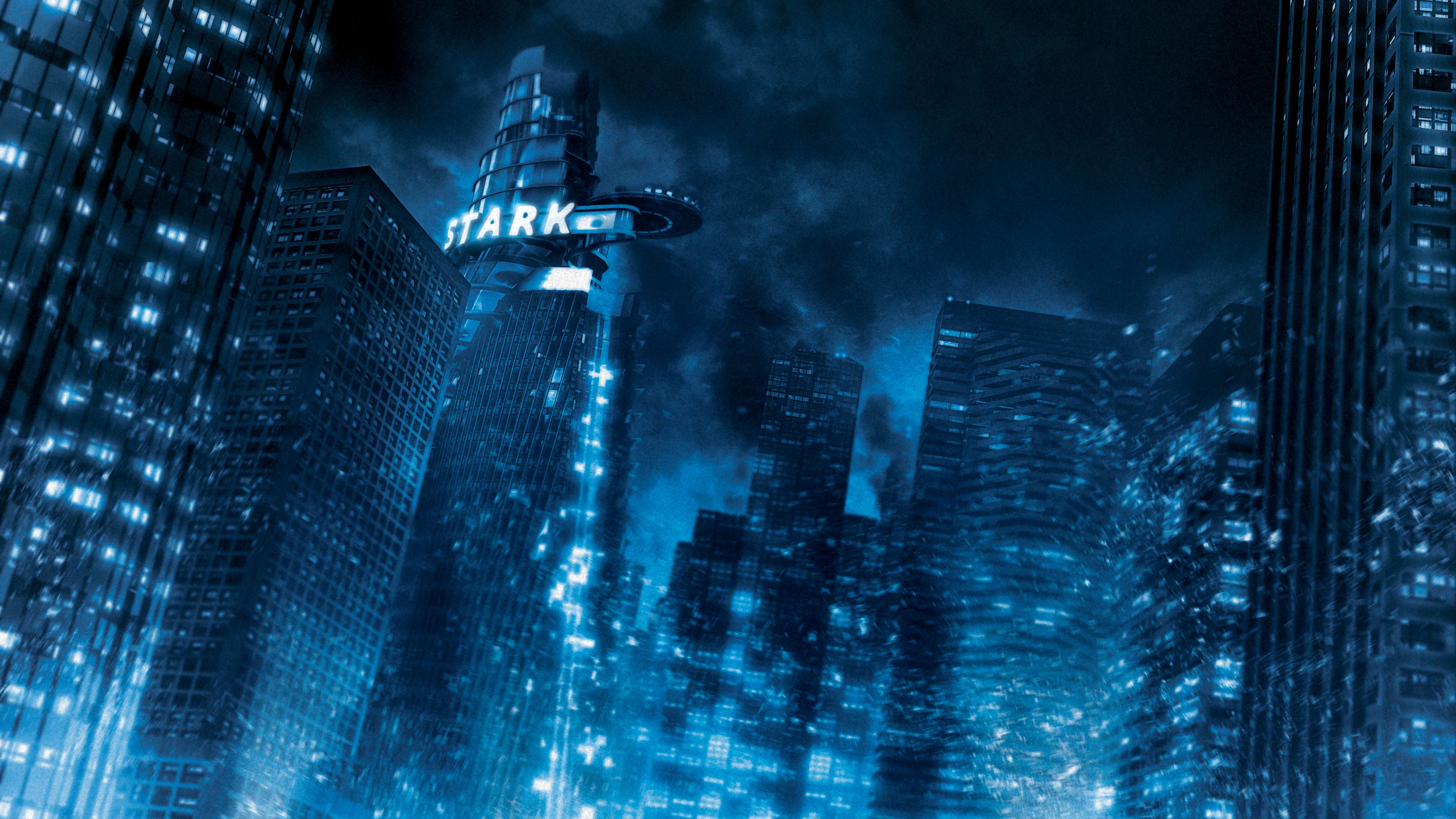 5120x2880 Avengers Stark Tower 5K Wallpapers | Wallpapers HD
