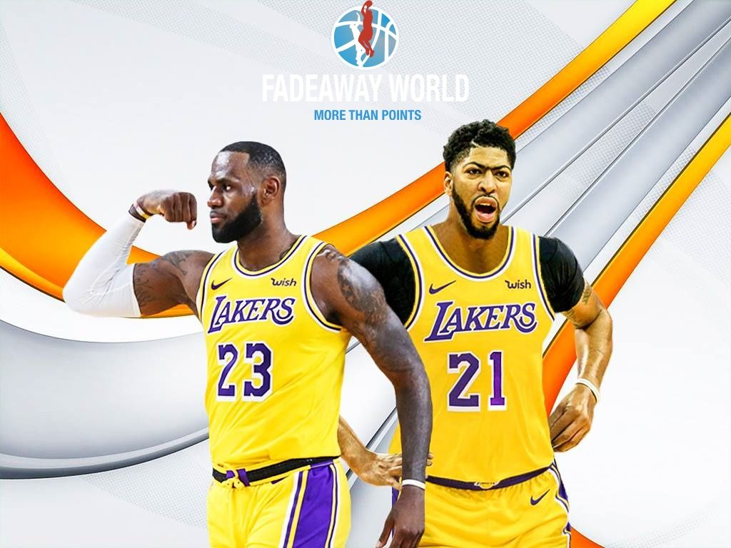 1024x768 Lebron James And Anthony Davis Wallpapers