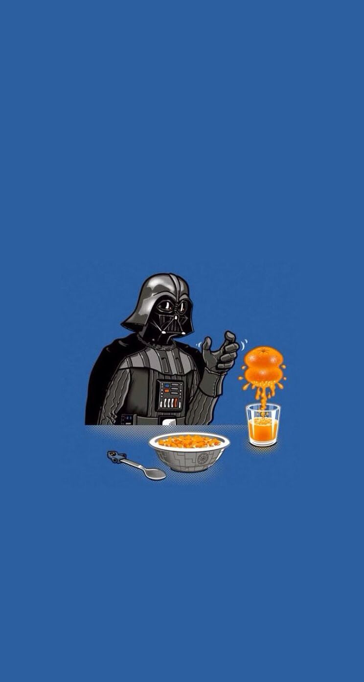 744x1392 Vader iphone wallpaper | Funny screen savers, Cool ...