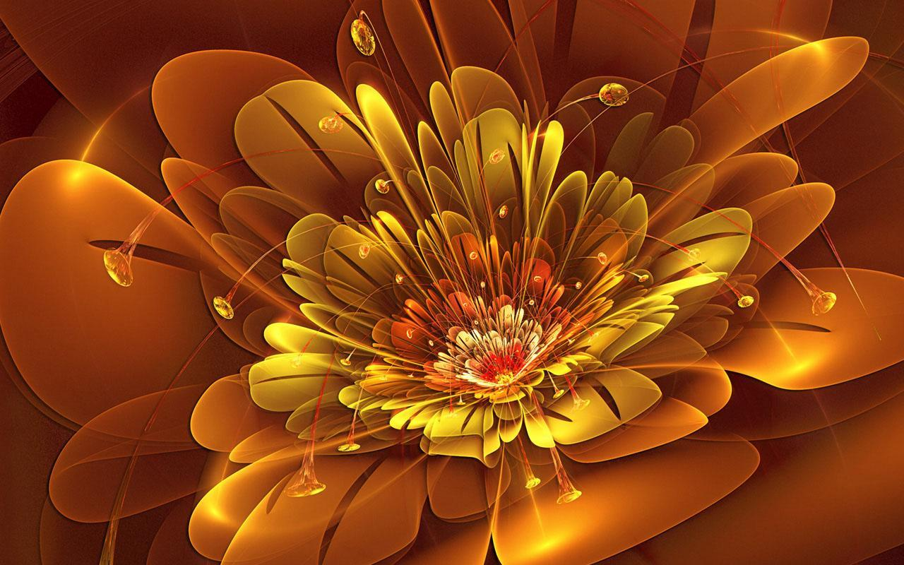 1280x800 3D Flower Wallpapers for Android - APK Download