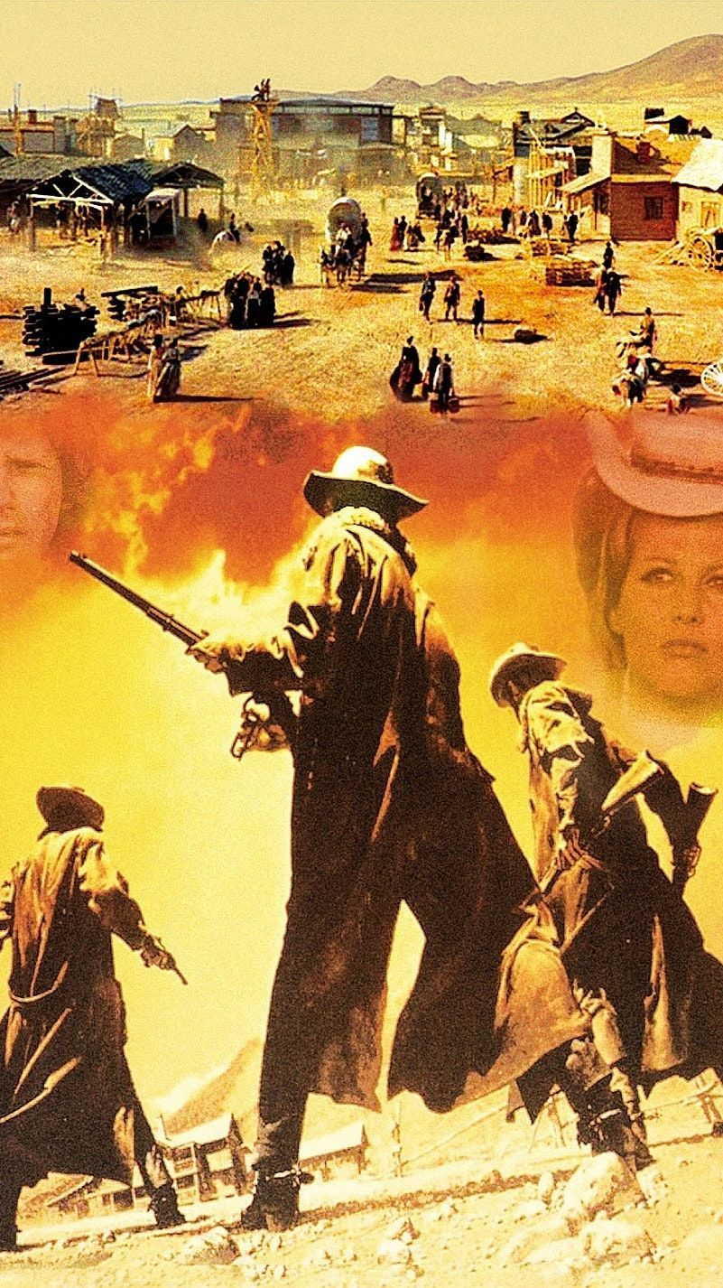 801x1426 Once Upon a Time in the West (1968) Phone Wallpaper | Art ...