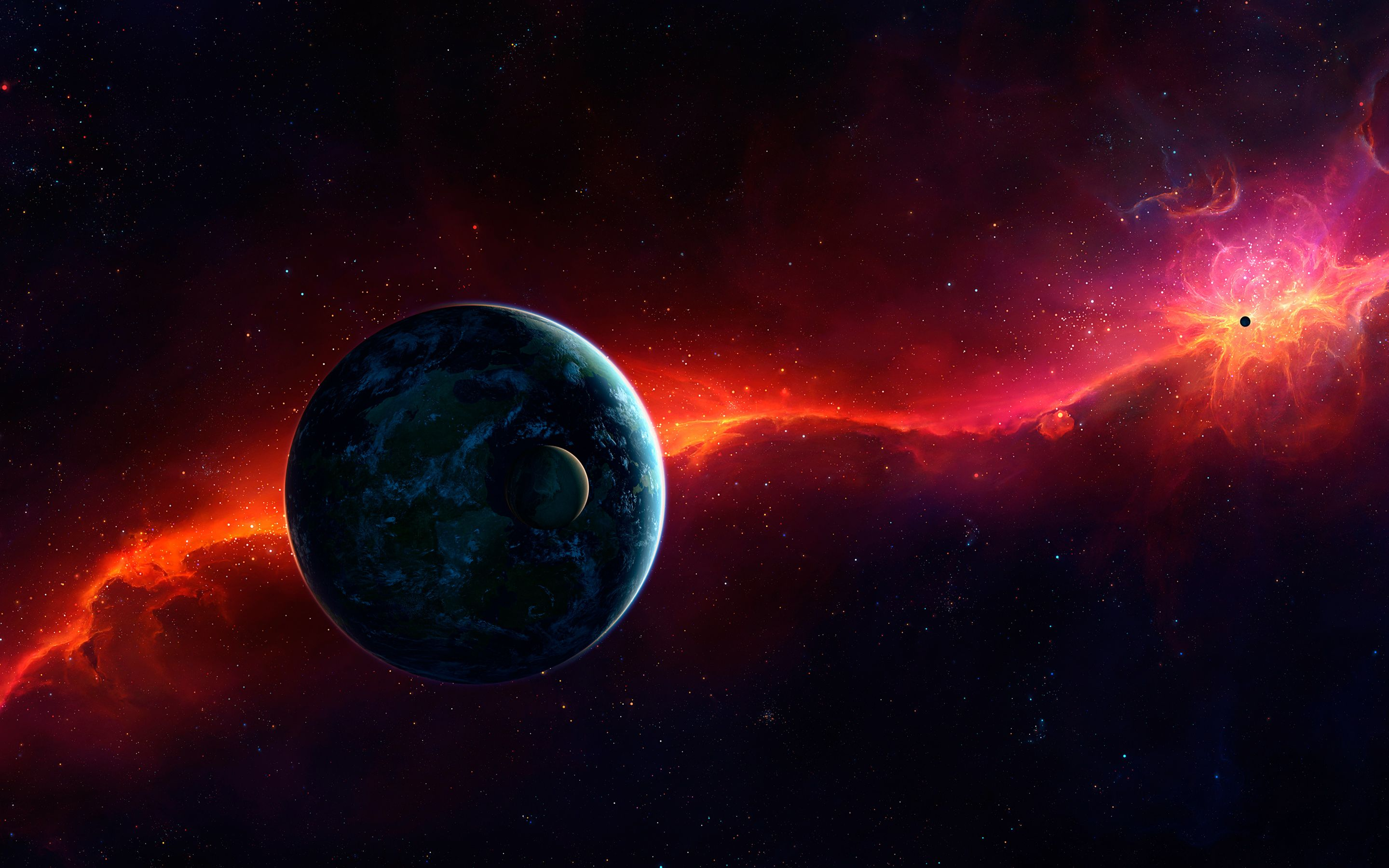 2880x1800 Cosmos Planets 4K Wallpapers   HD Wallpapers   ID #20307
