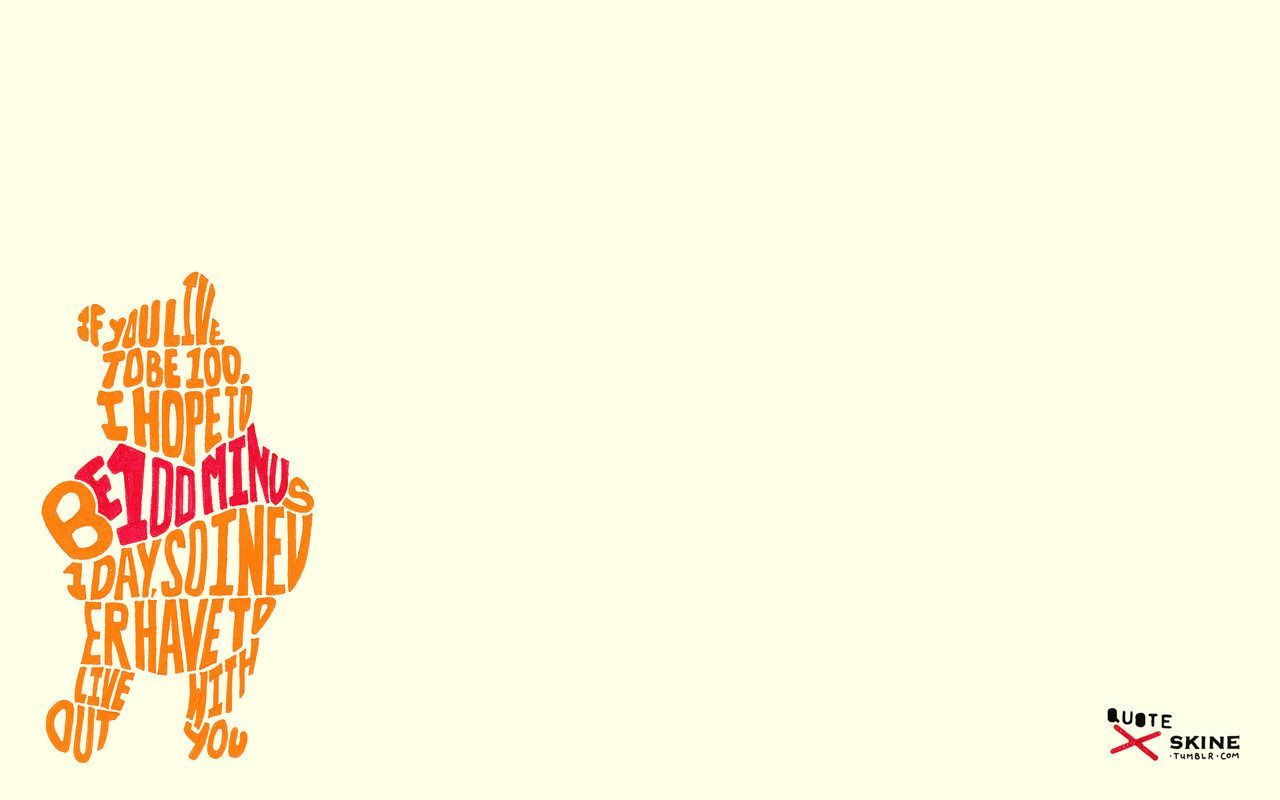 1280x800 Winnie The Pooh Wallpapers - Winnie The Pooh Quotes, Hd ...