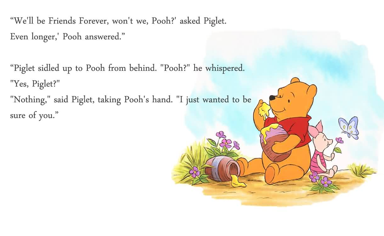 1220x750 20 Pooh Quotes About Friendship Images & Photos   QuotesBae