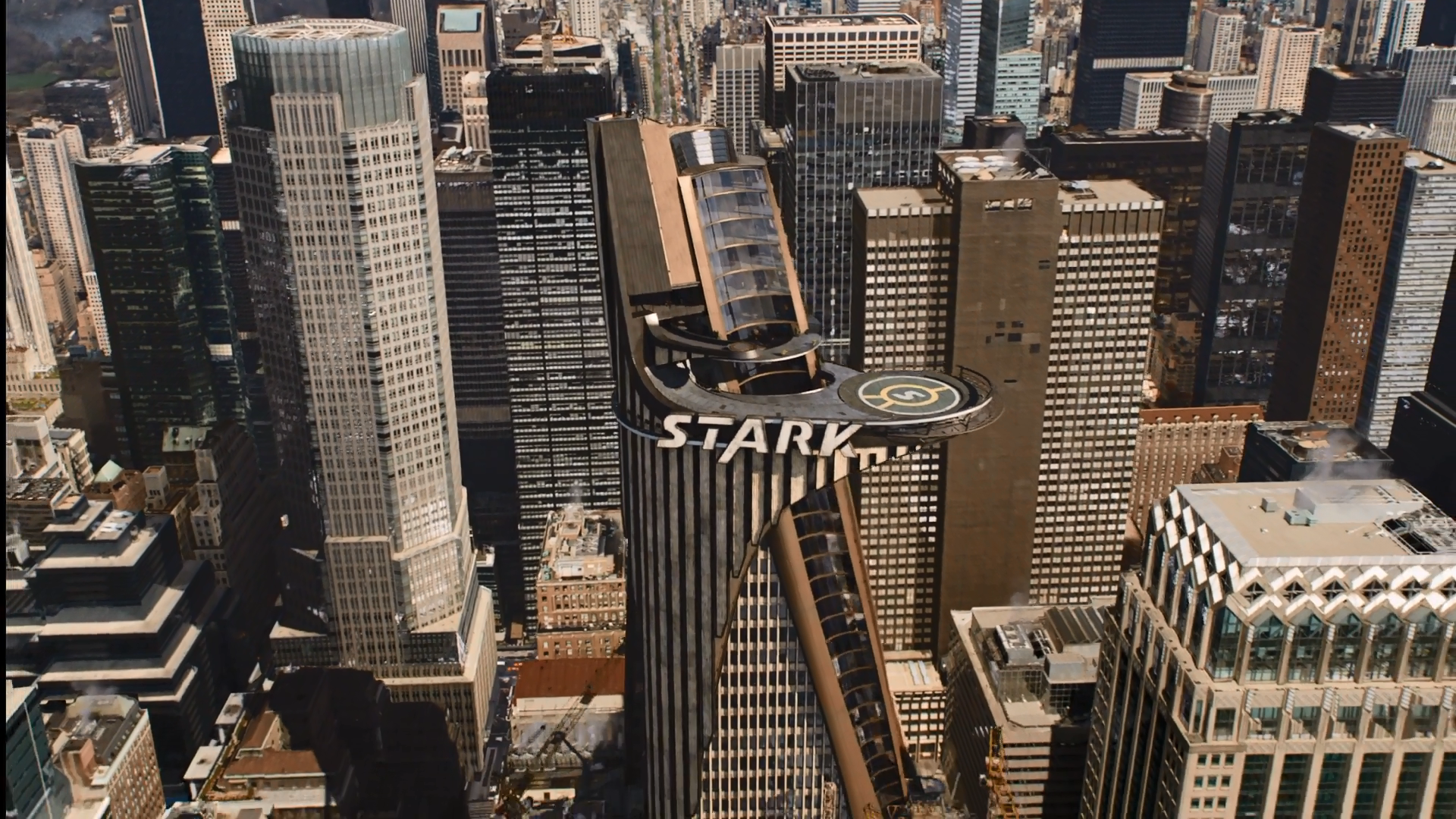 1920x1080 Stark Tower Wallpapers