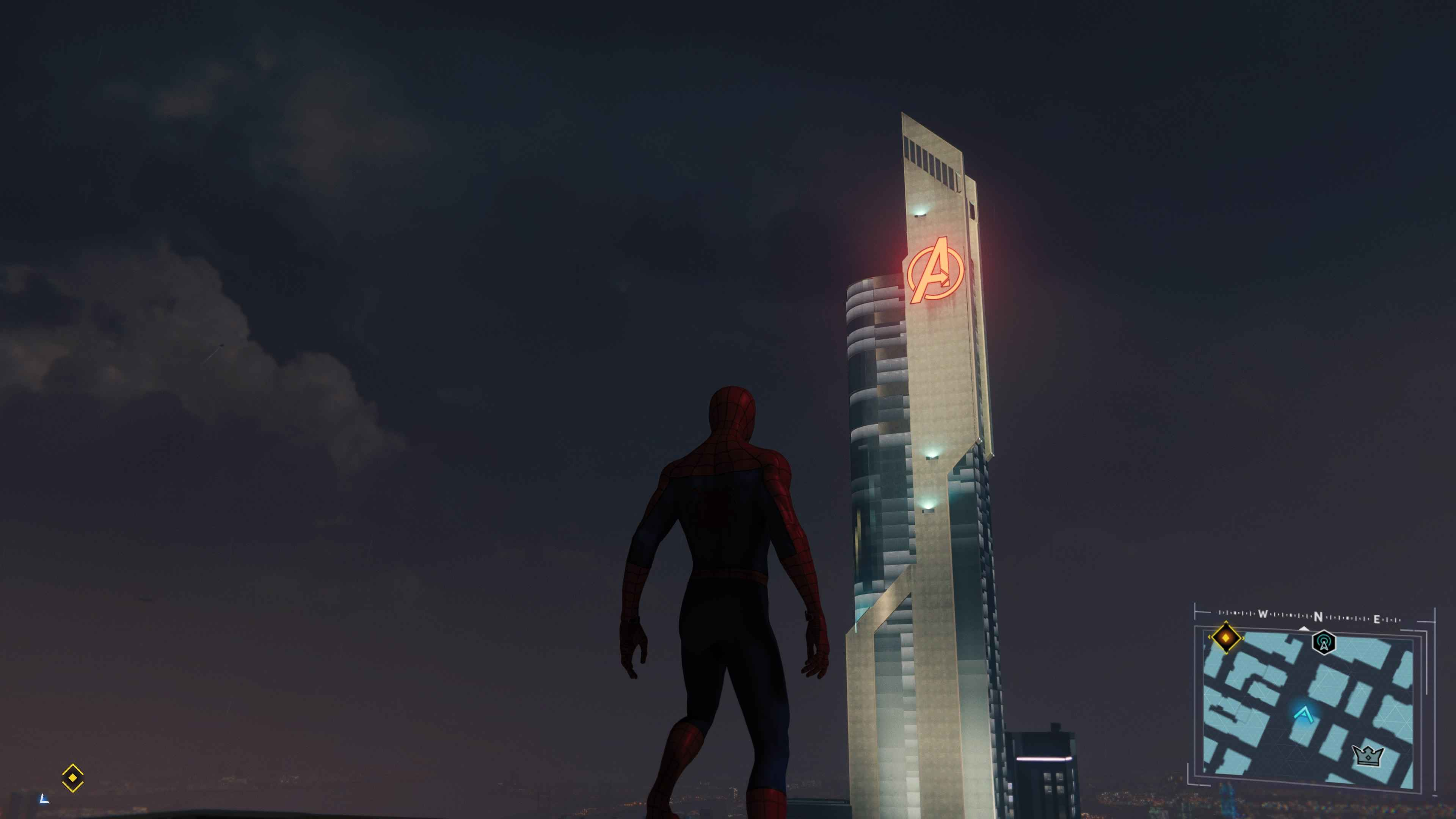 3840x2160 Spider-Man PS4 Easter Eggs: Avenger's Tower Location ...