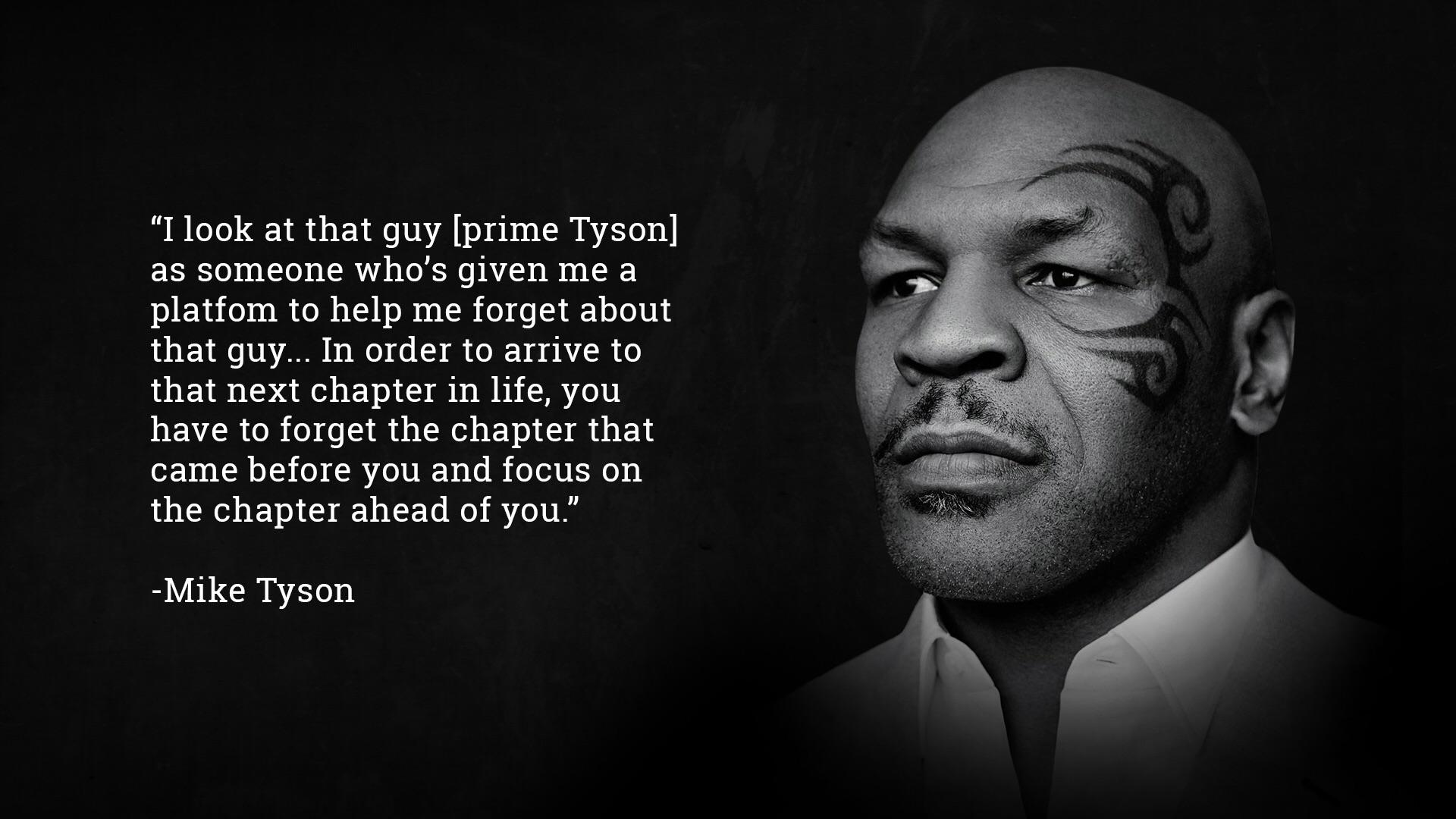 1920x1080 Image] Mike Tyson is wise as an older man. : GetMotivated