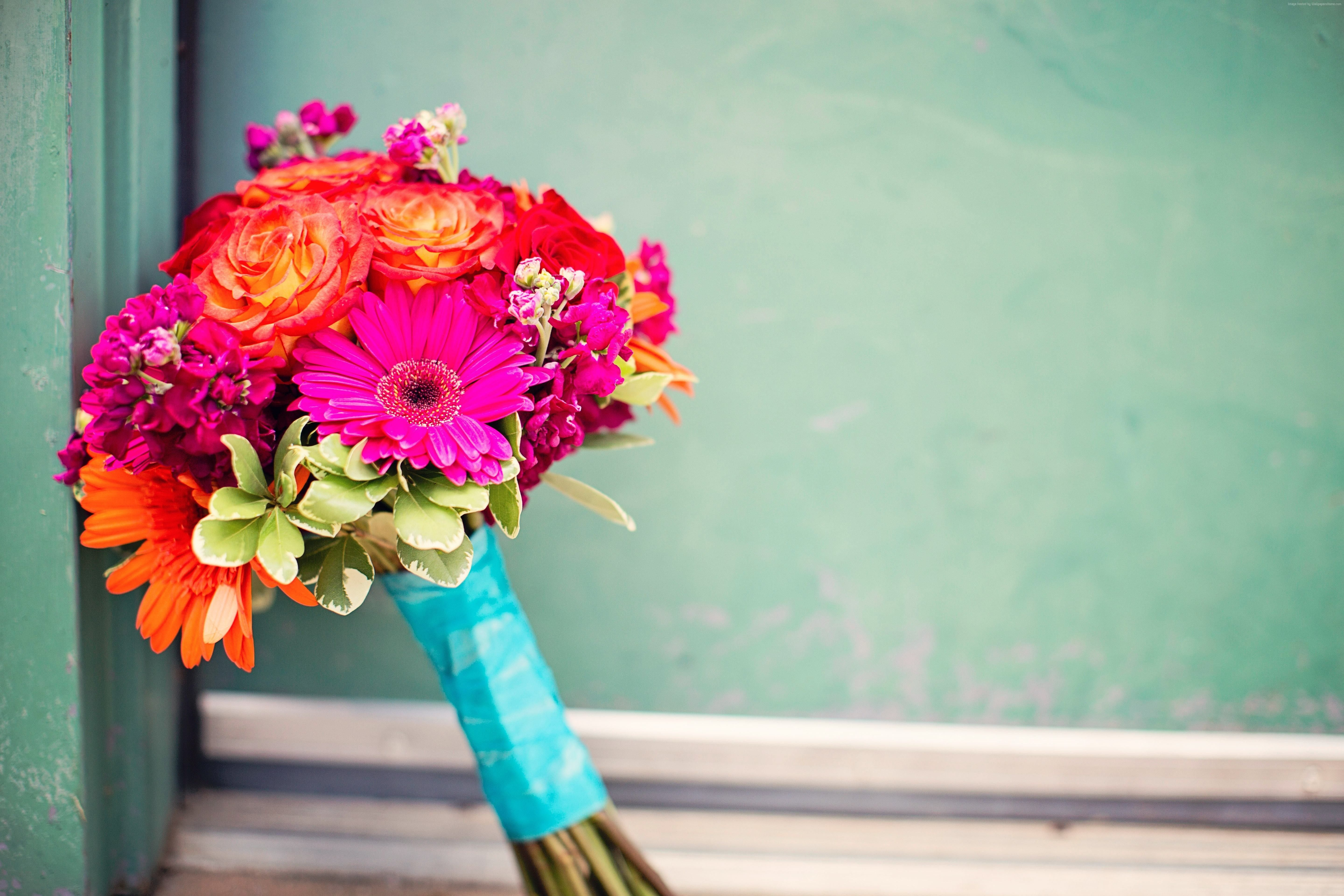 5760x3840 flower Bouquet, #flowers, #colorful - Valentine Day ...