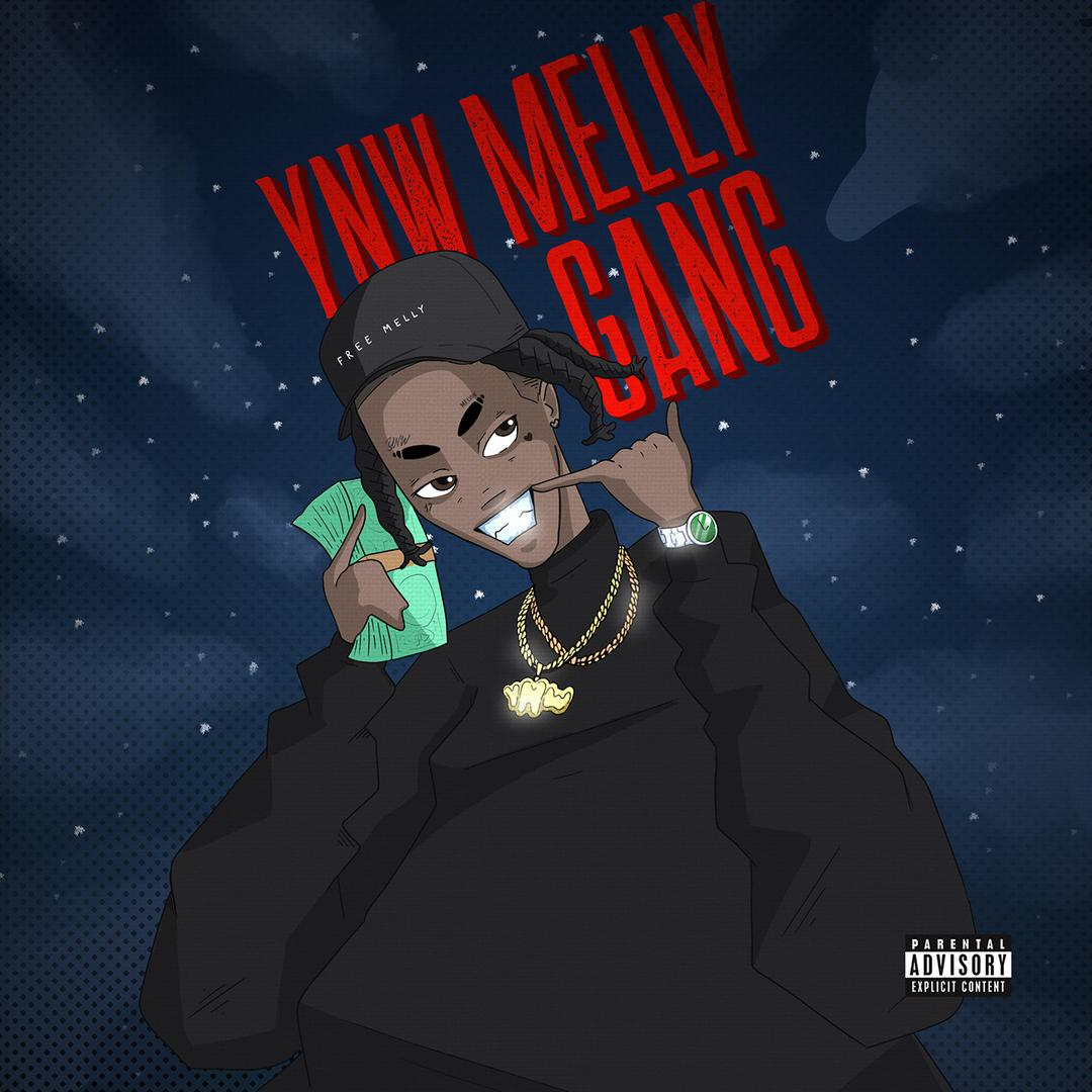 1080x1080 Gang by YNW Melly - Pandora