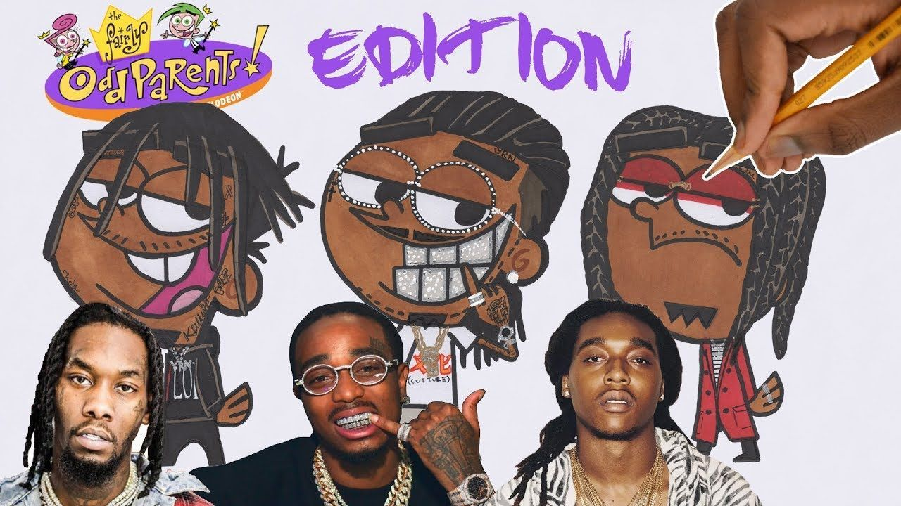 1280x720 DRAW RAPPERS AS CARTOONS! MIGOS ATL !! | Migos, Drawings, Cartoon