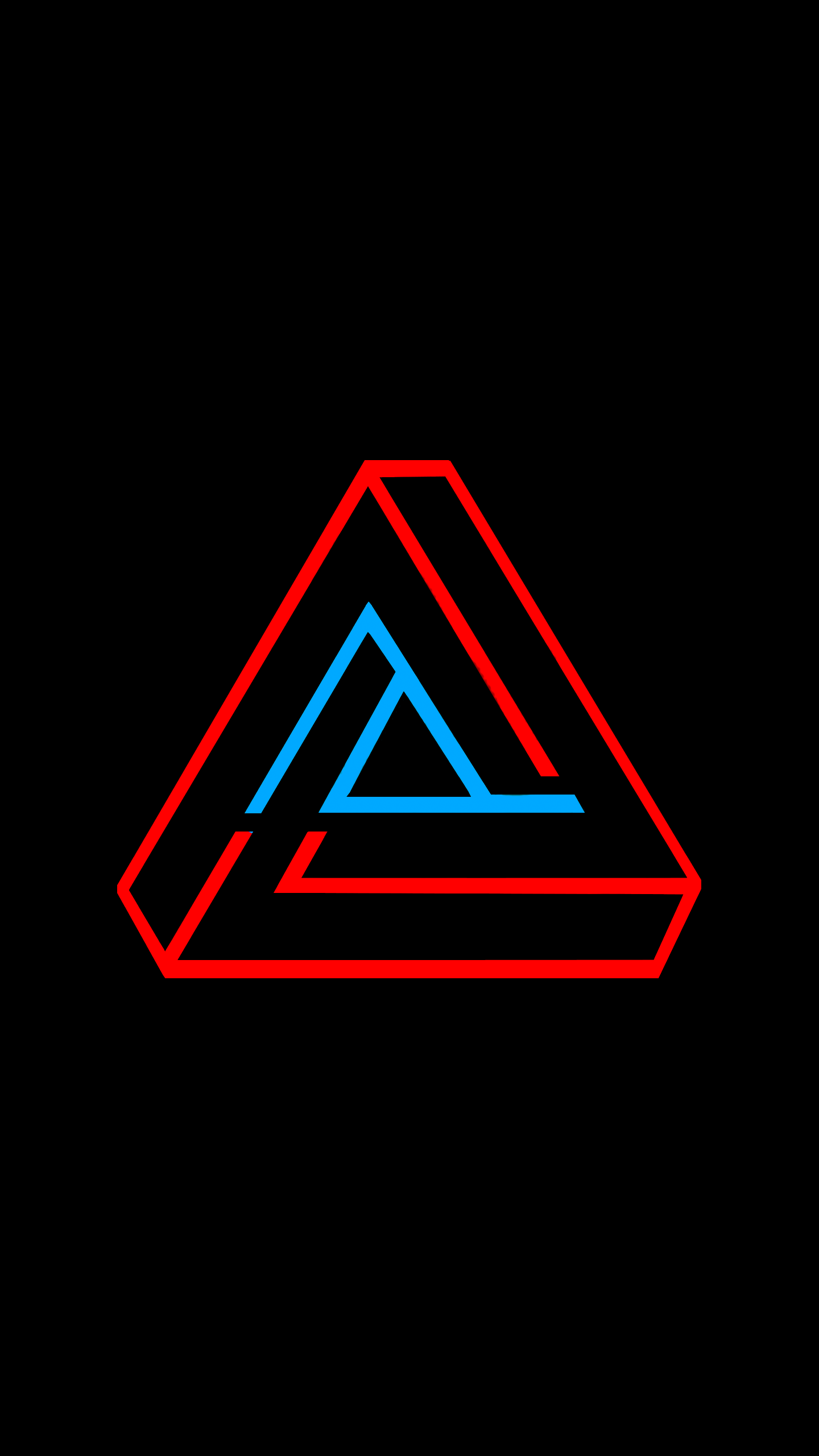 1440x2560 The Penrose Triangle