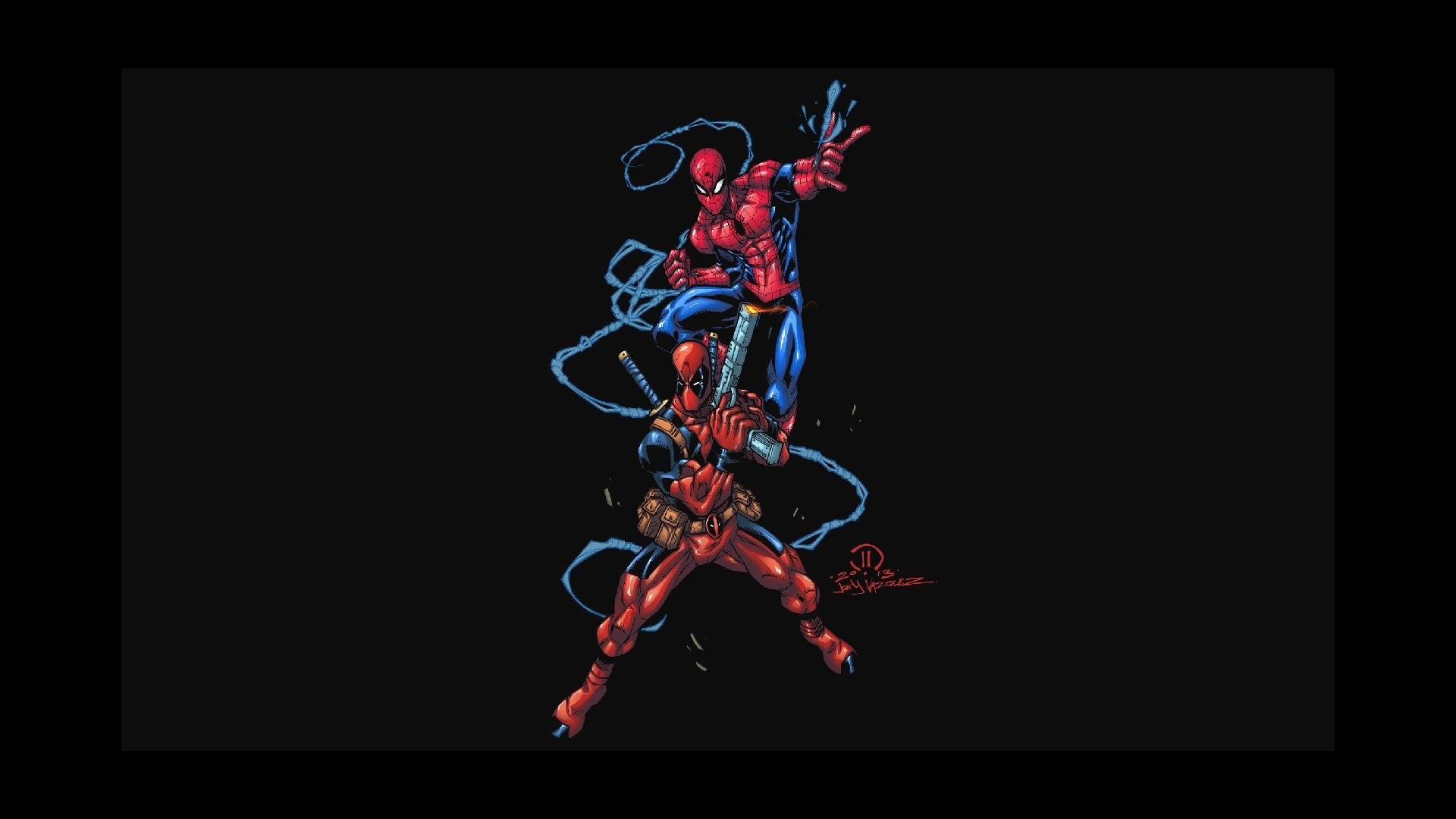 1920x1080 Deadpool and Spiderman Wallpaper (71+ images)