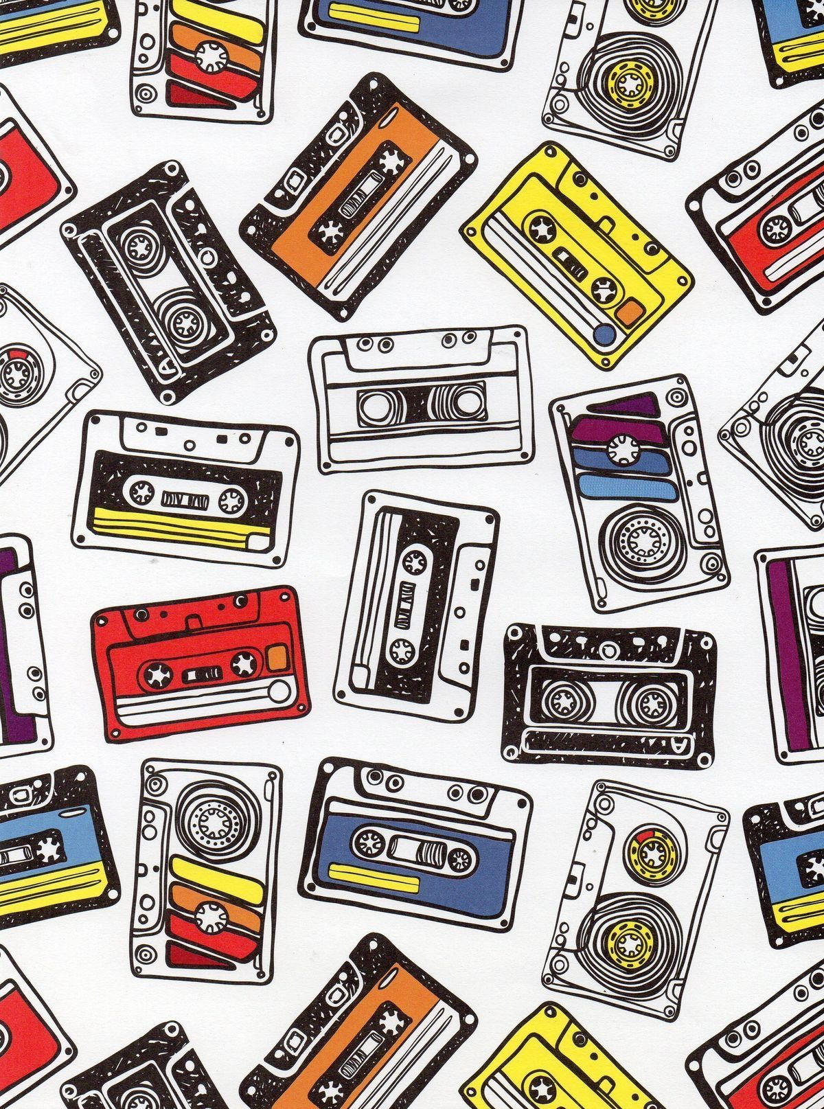 1200x1615 Mixtapes wallpaper #Cool #Mixtapes | Tape art, Wallpaper