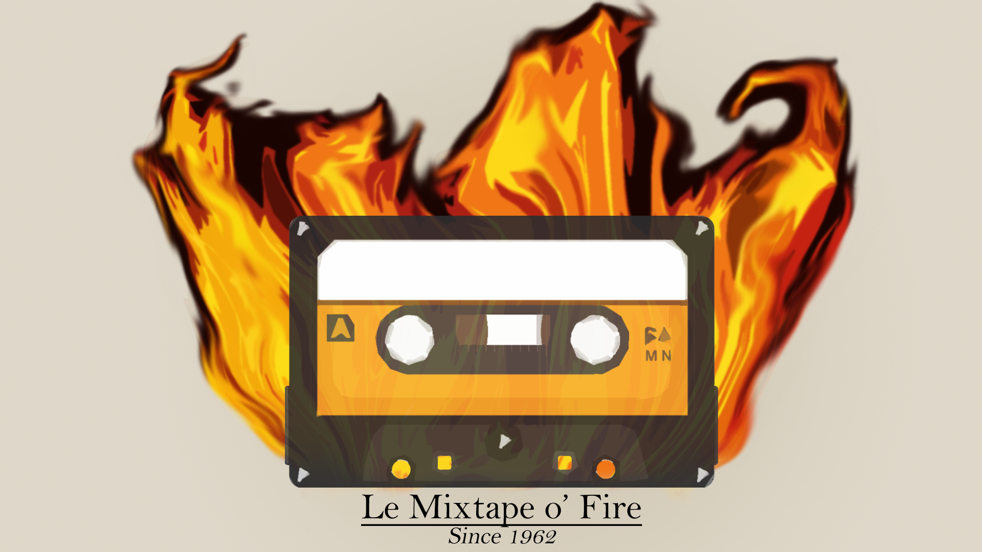 1920x1080 Mixtape O' Fire - Mixtape On Fire Png (#1711992) - HD Wallpaper ...