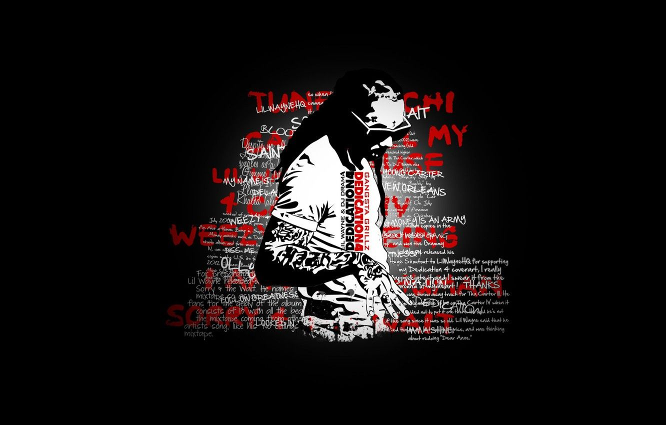 1332x850 Wallpaper rap, dedication 4, lil wayne, mixtape images for desktop ...