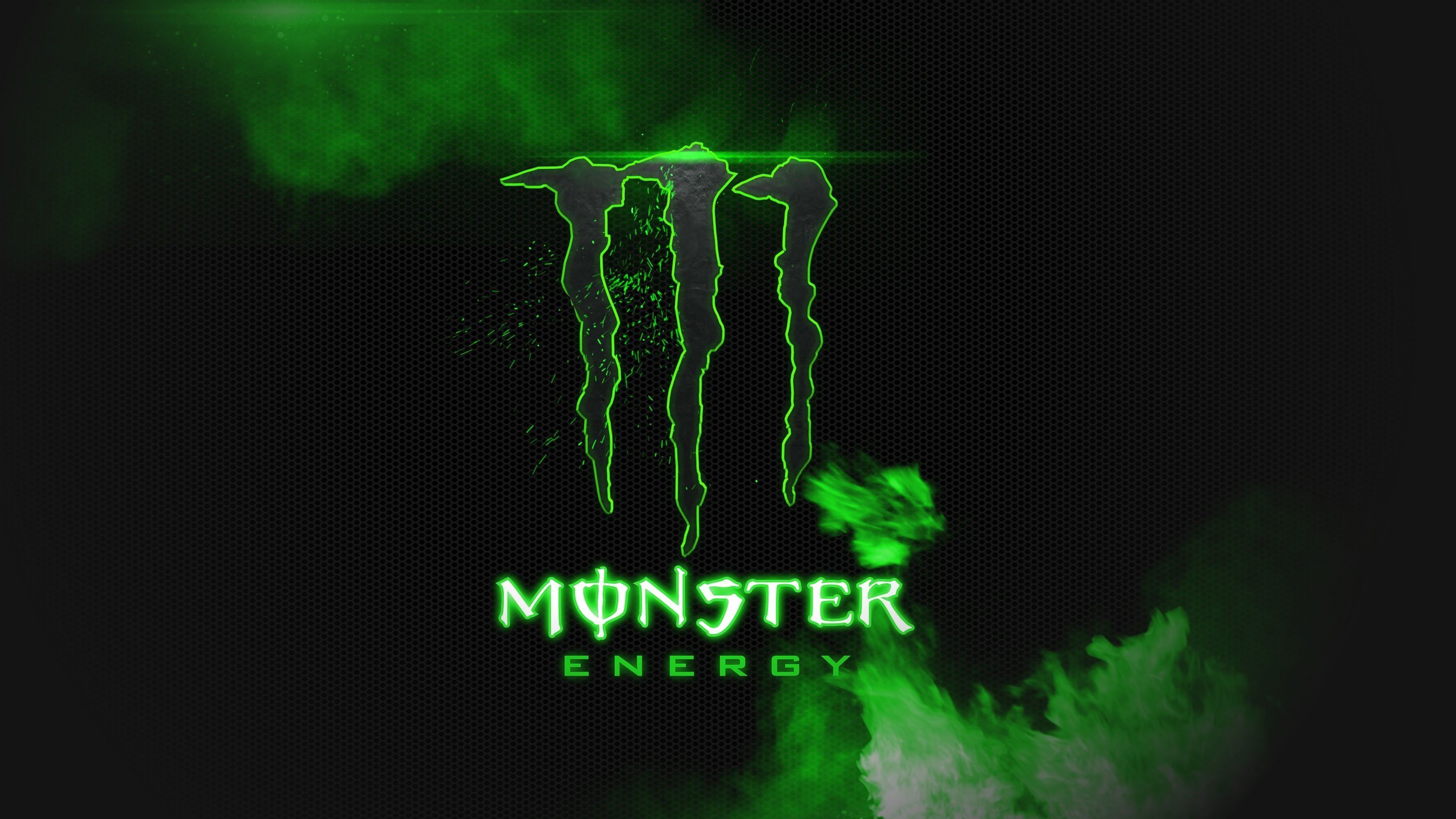 2906x1634 Monster Energy Black And Green HD Wallpaper Background Image | maria ...