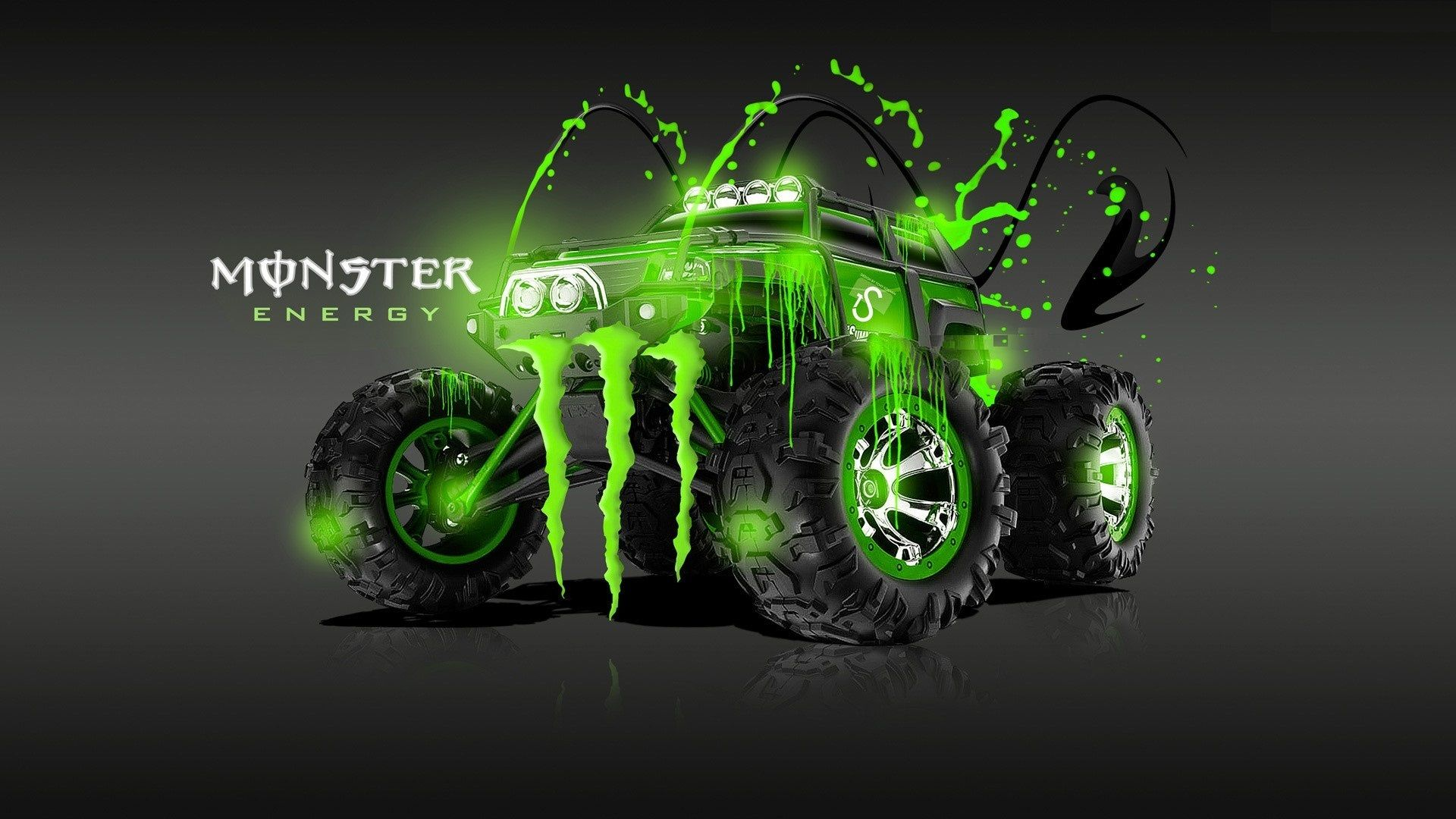 1920x1080 Wallpaper's Collection: «Monster Wallpapers»