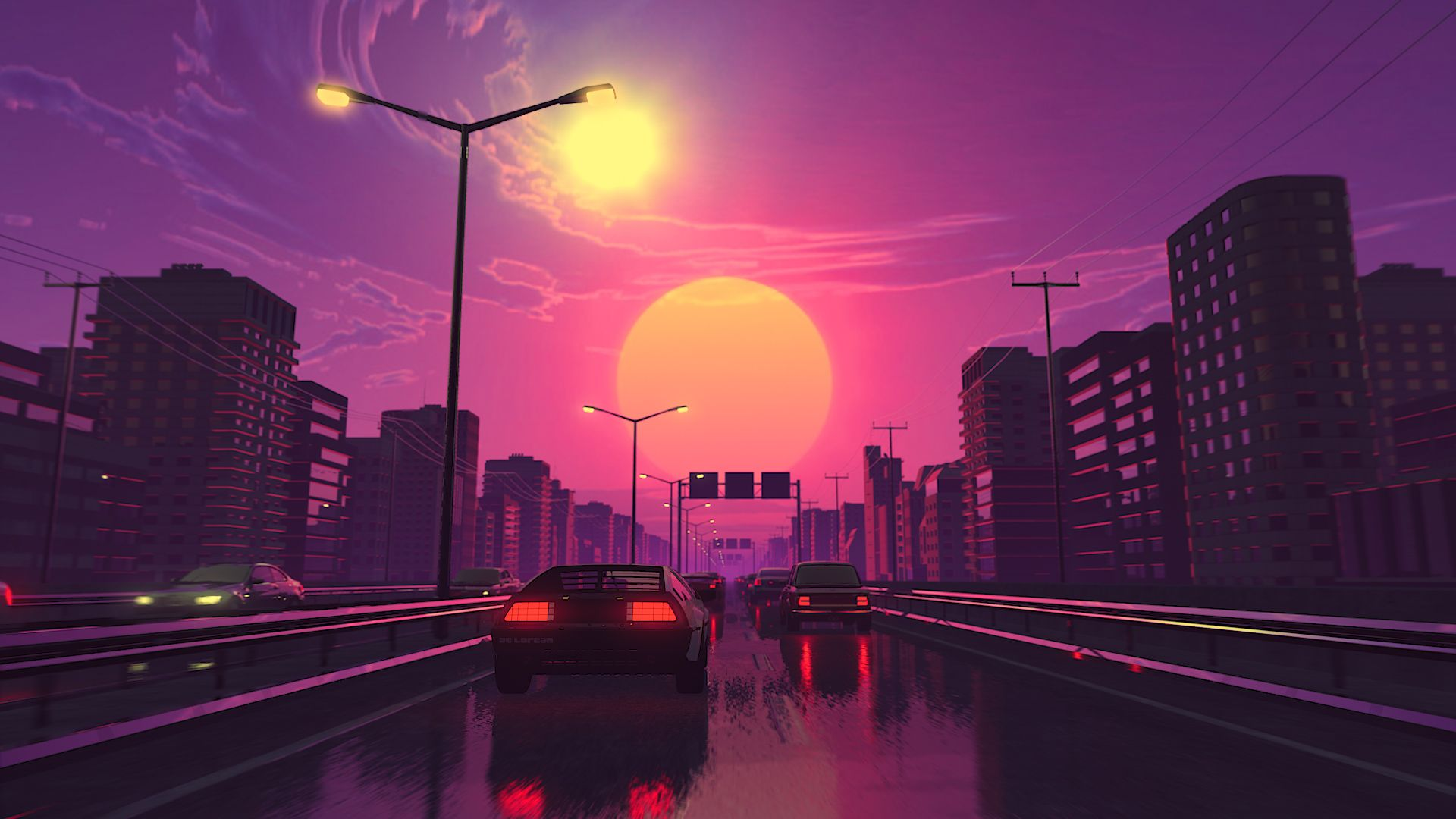 1920x1080 The Drive by Visualdon [1920x1080] : wallpapers