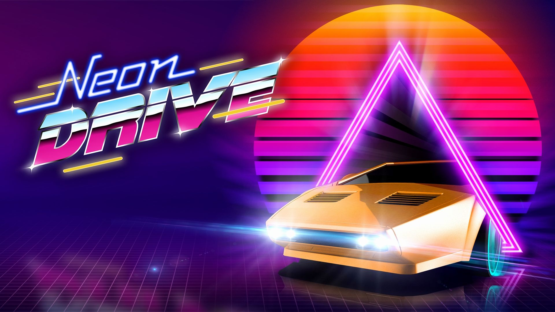 1920x1080 Drive Wallpapers Inspirational Neon Drive – Retro Synthwave This ...