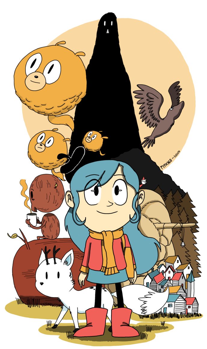 689x1160 Hilda Wallpapers