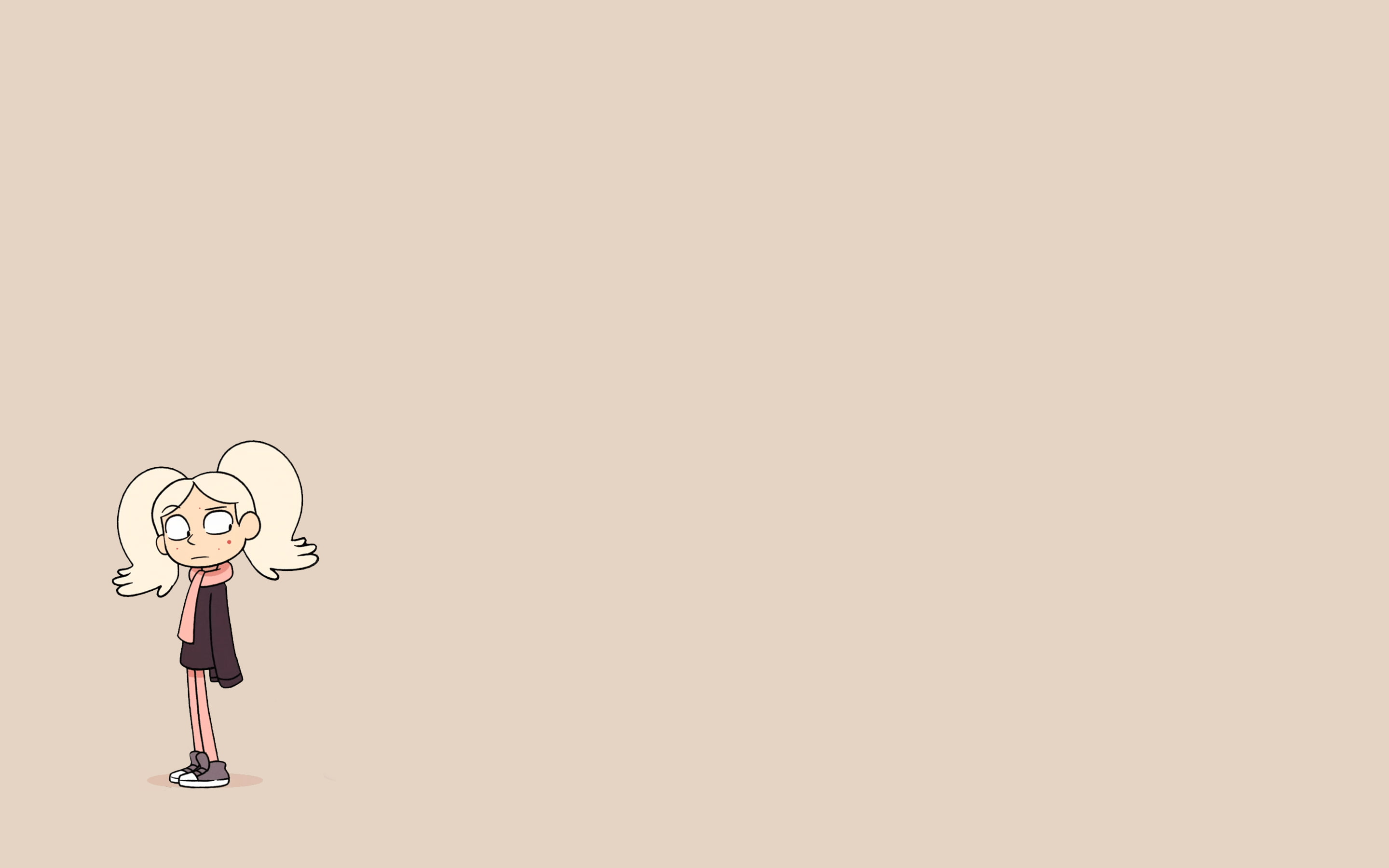 2880x1800 Hilda (Unist), Netflix, The Ghost, minimalism, Mean Girl, Marra ...