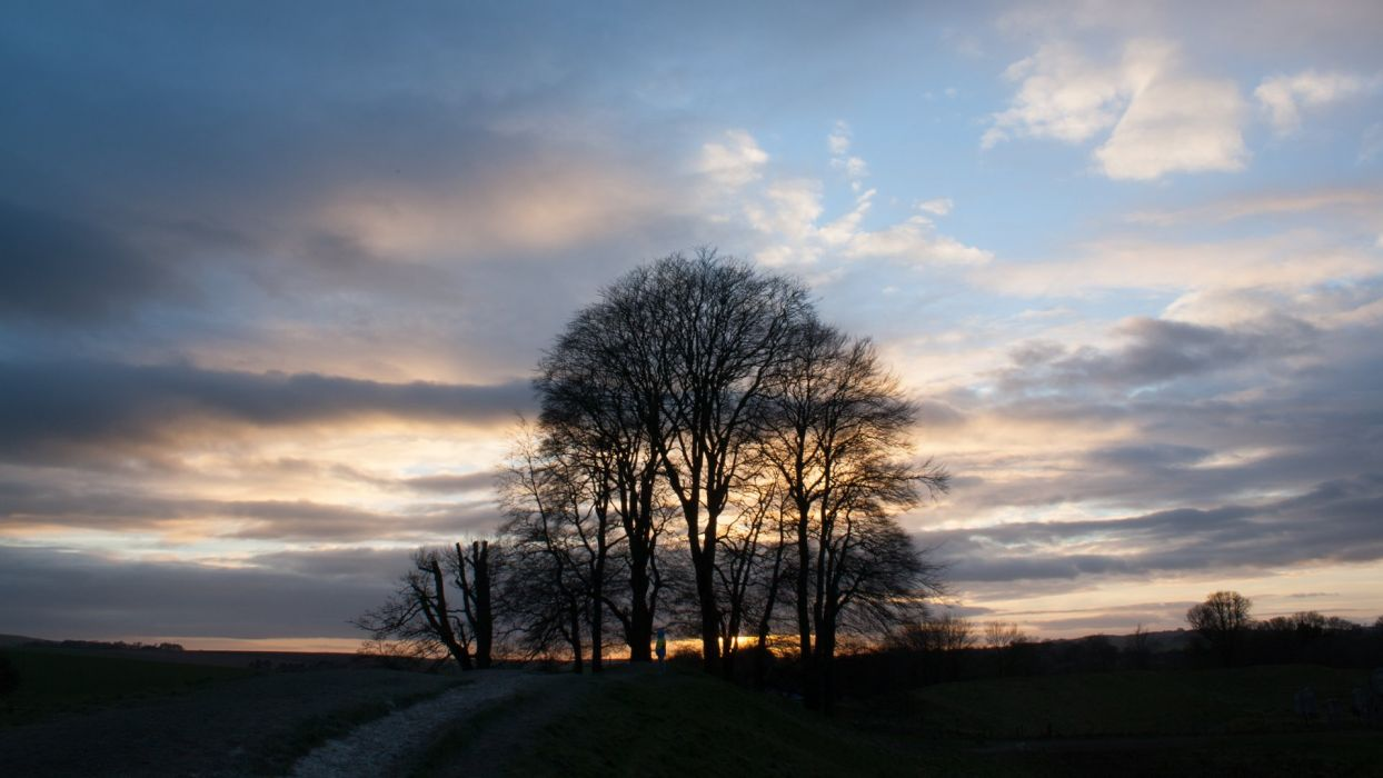 1244x700 Avebury Wiltshire at Sunset in February wallpaper | 1920x1080 ...