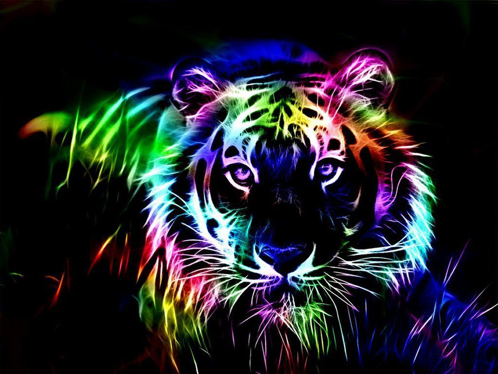 1024x768 Rainbow Tiger. With tubbochargedreading.blogspot.com http://youtu.be ...