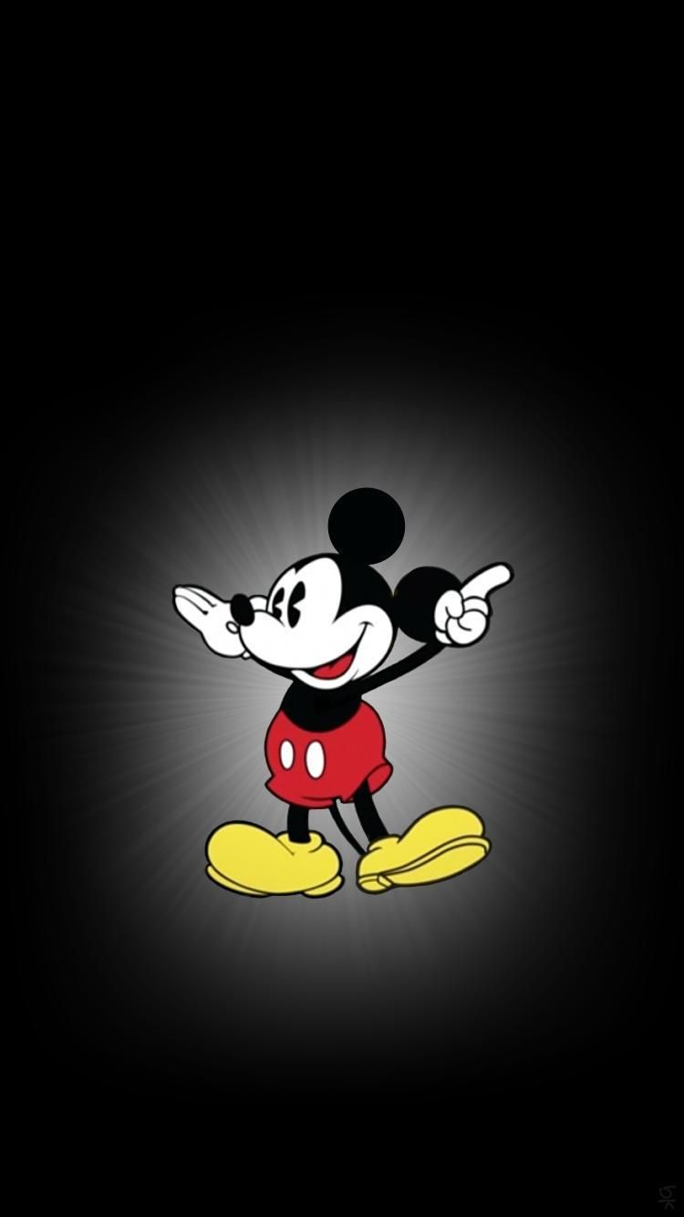 750x1334 Mickey Mouse iPhone 7 and iPhone 7 Plus HD Wallpaper - HD iPhone 7 ...
