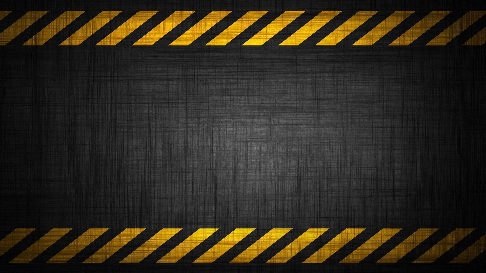 1920x1080 Caution tape warning background image | Black wallpaper ...