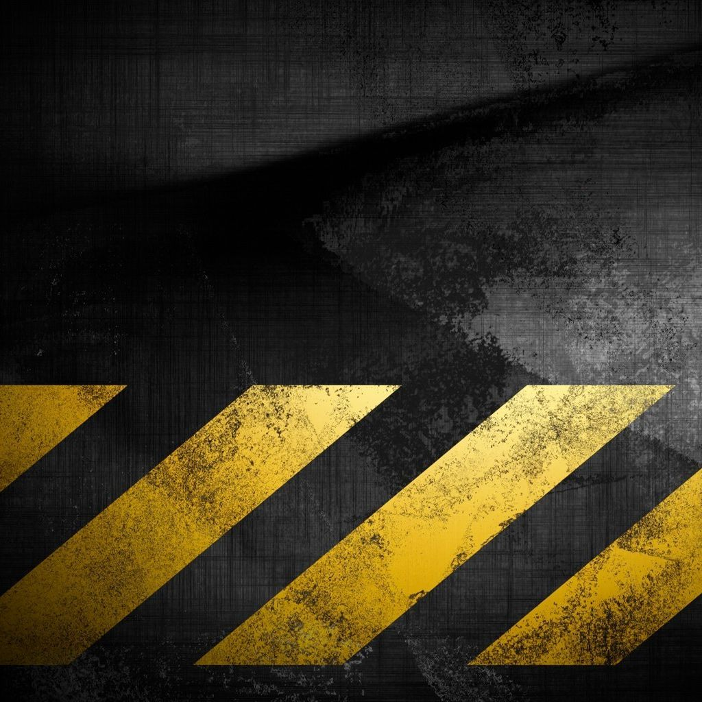 1024x1024 Caution Tape iPad Wallpaper | ipadflava. | Caution tape, Ipad ...