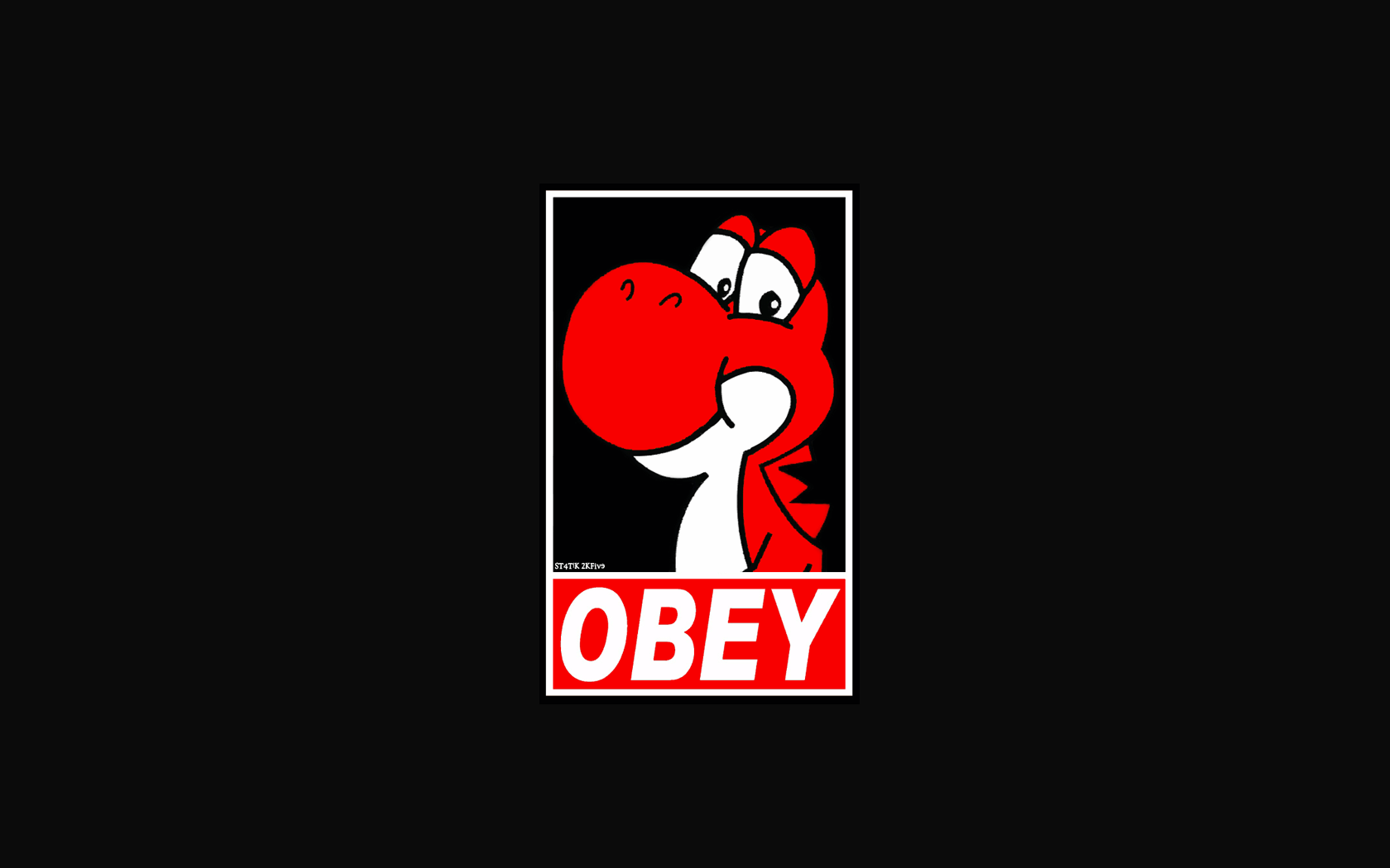 1680x1050 Obey Wallpapers