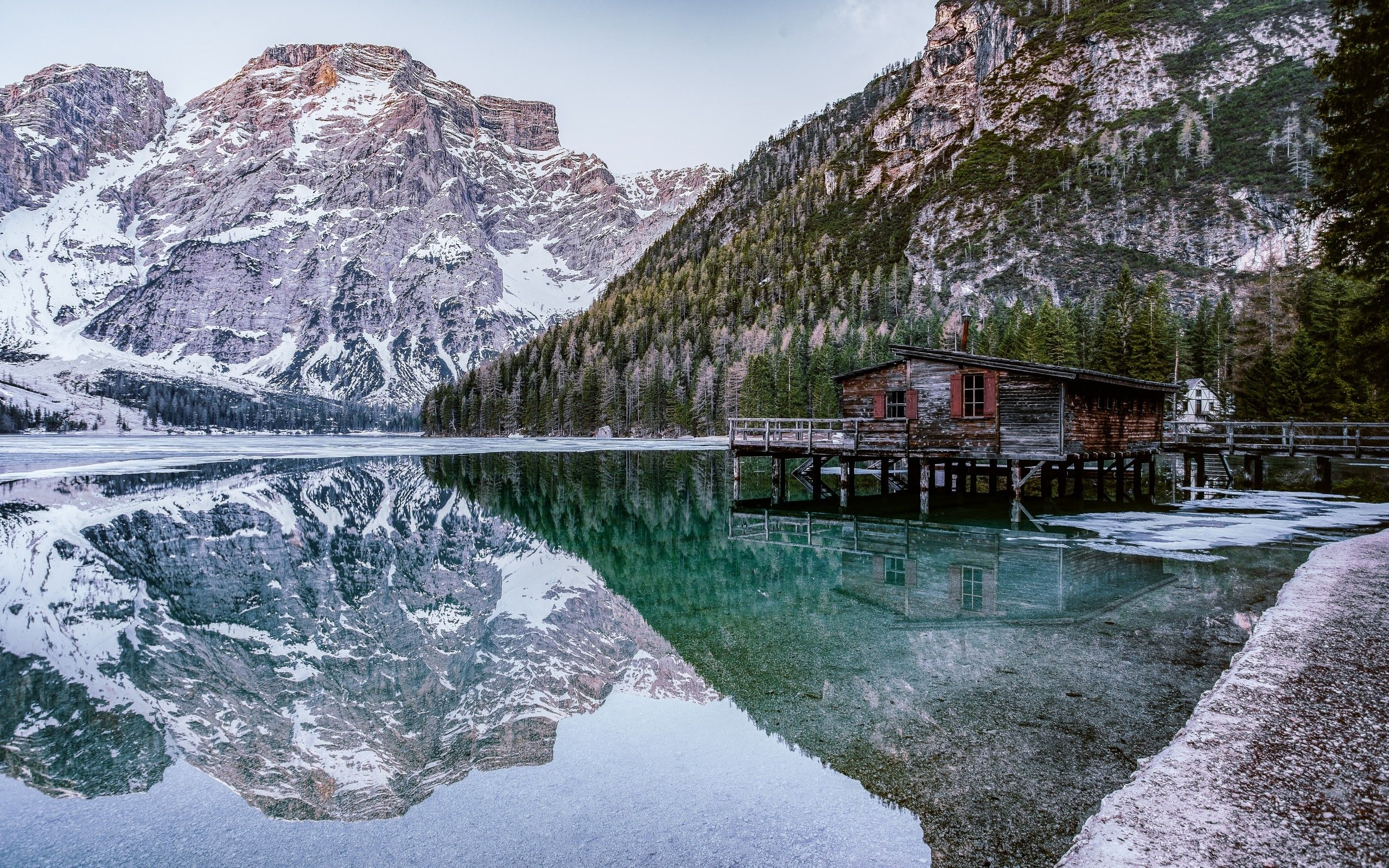2560x1600 Download 2560x1600 Alpine, Lake, Mountain, Scenic, Relaxing ...