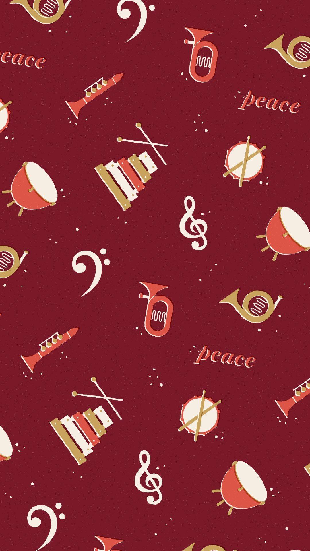 1080x1920 Concert Band Phone Wallpaper - Phone Wallpapers Holiday ...