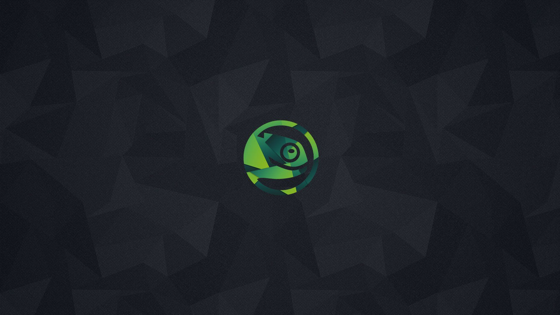 1920x1080 openSUSE wallpaper] Here's a wallpaper I made for you guys. : openSUSE